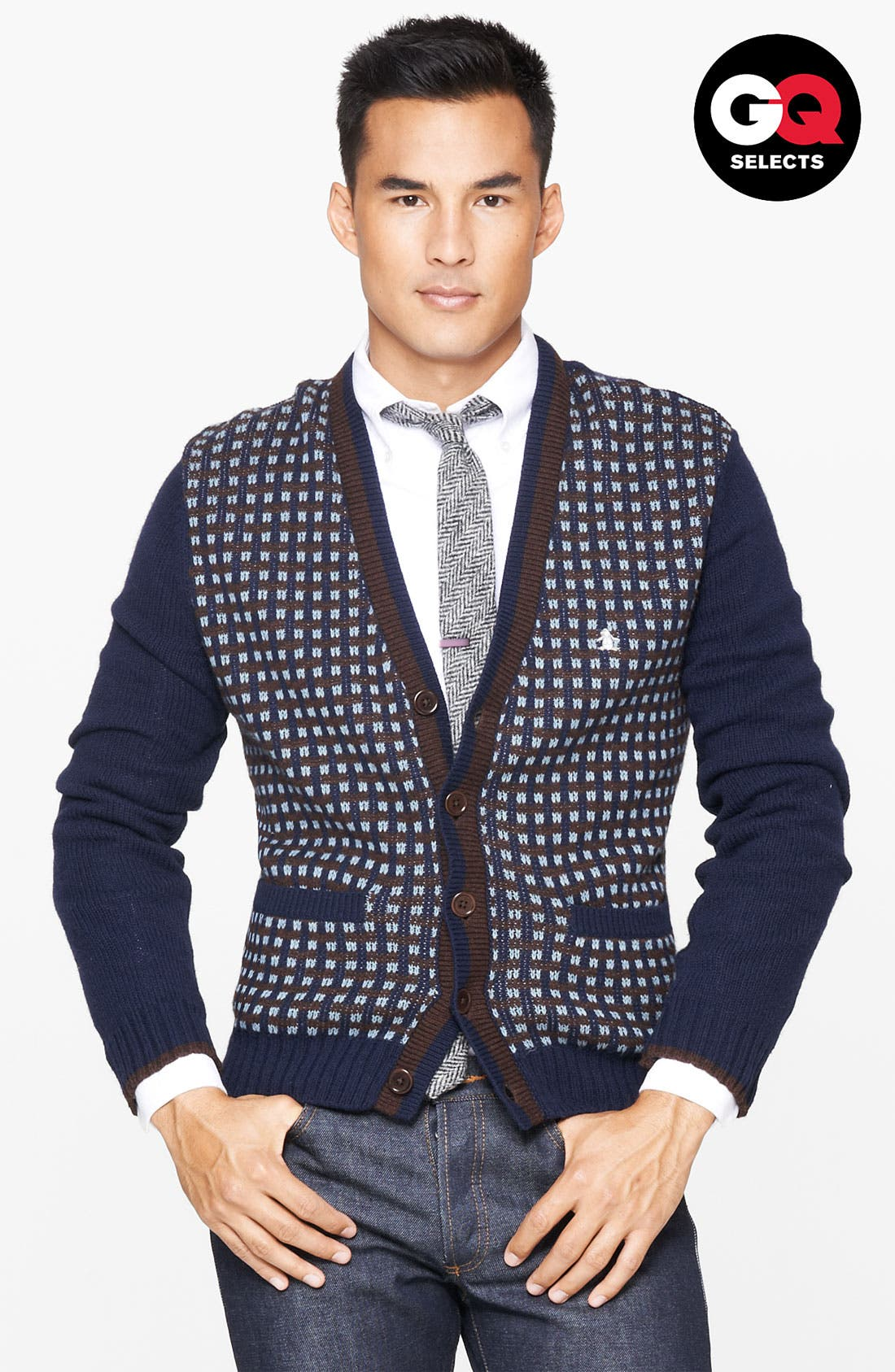 Alternate Image 1 Selected - Original Penguin Cardigan