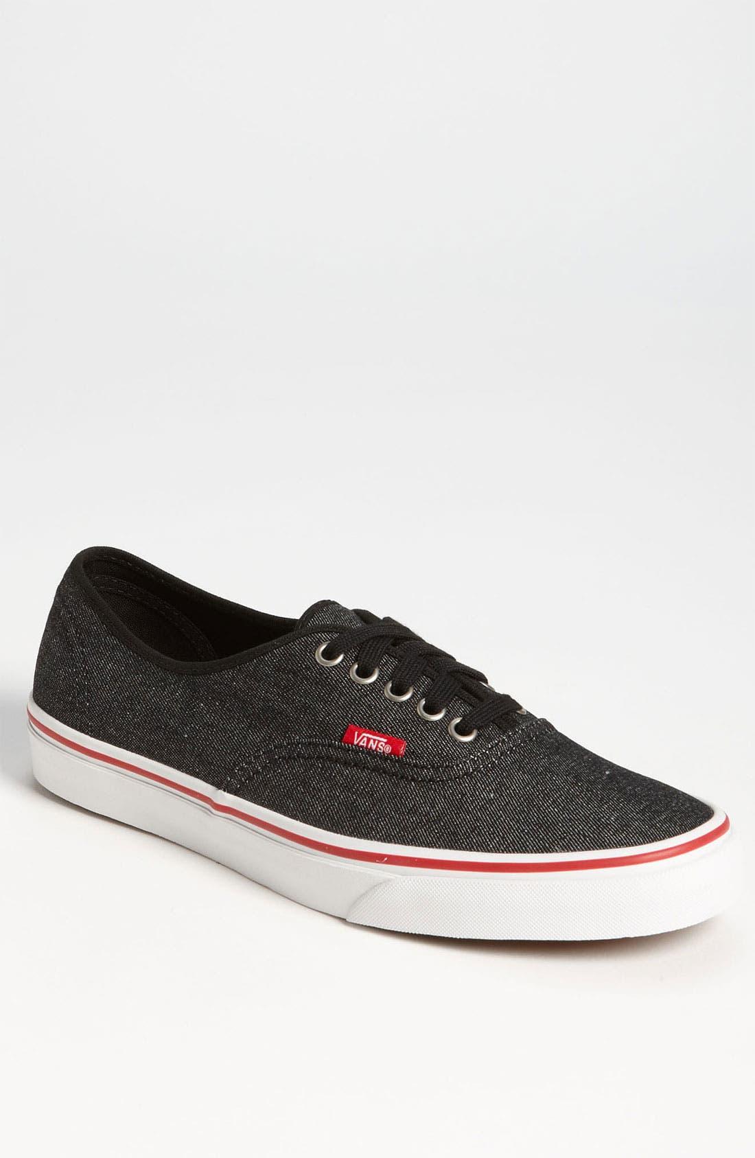 Main Image - Vans 'Authentic' Sneaker (Men)