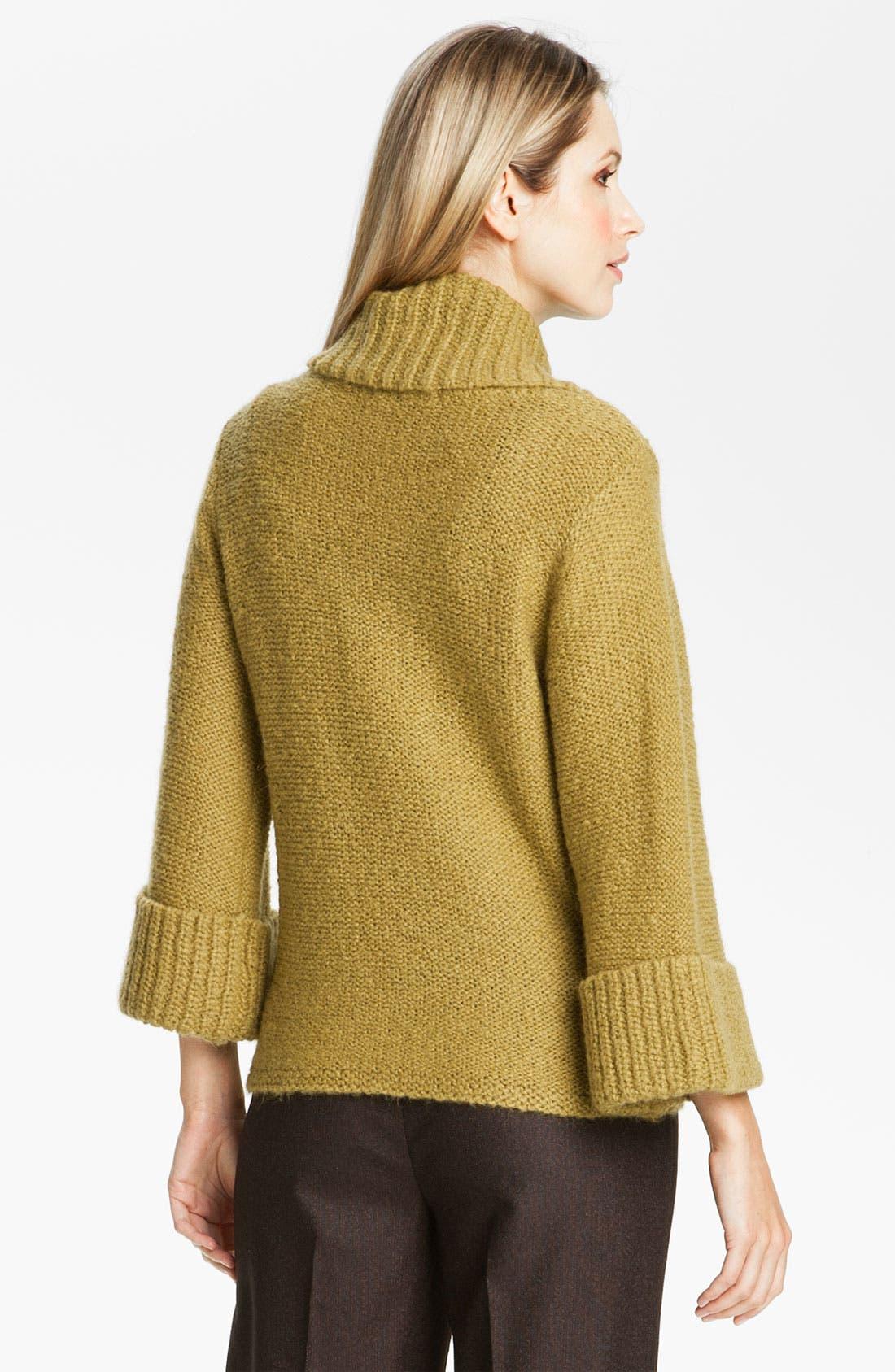 Alternate Image 2  - Classiques Entier® 'Mousse' Cowl Neck Sweater
