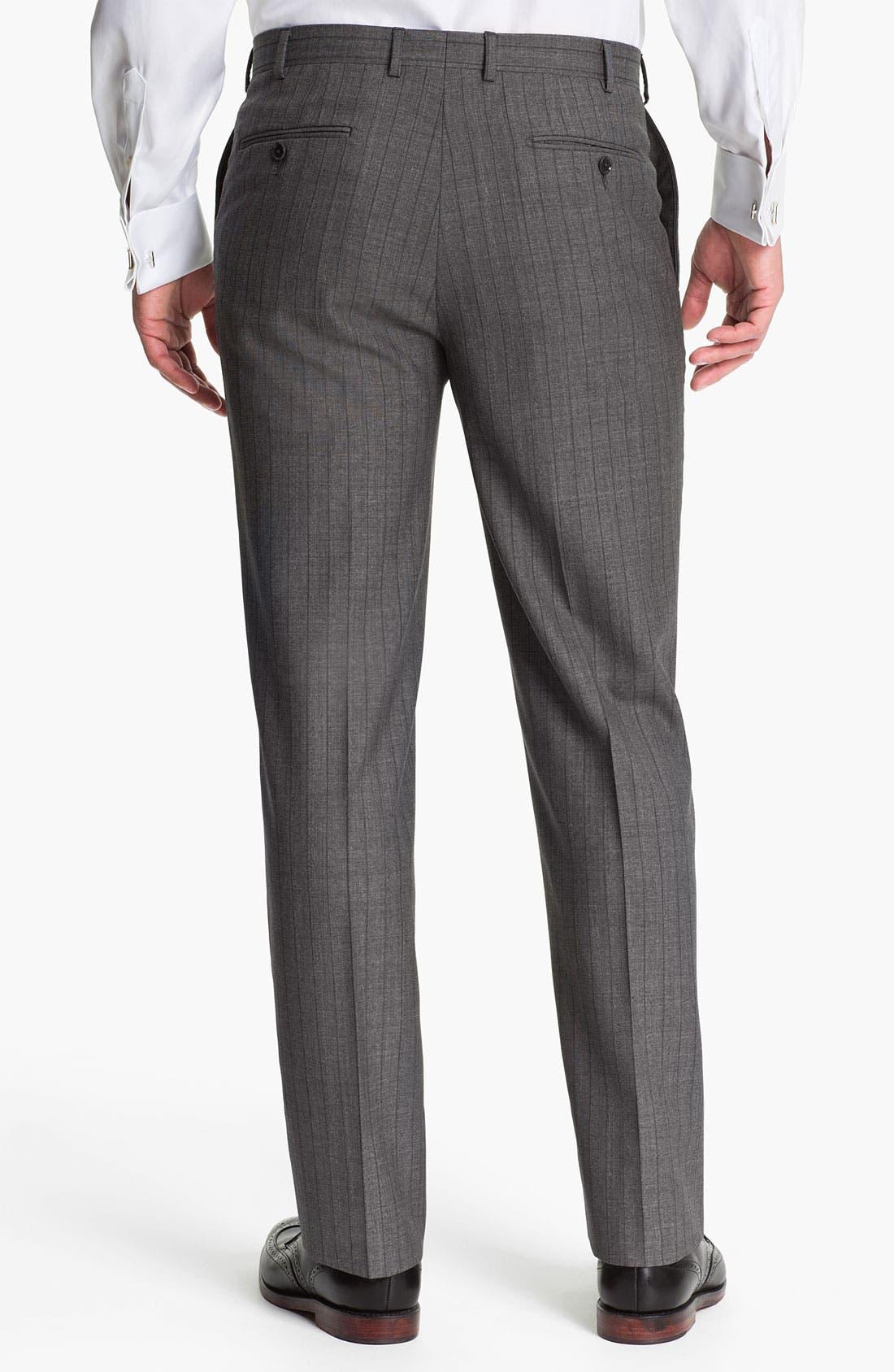 Alternate Image 5  - Pal Zileri Trim Fit Wool Suit