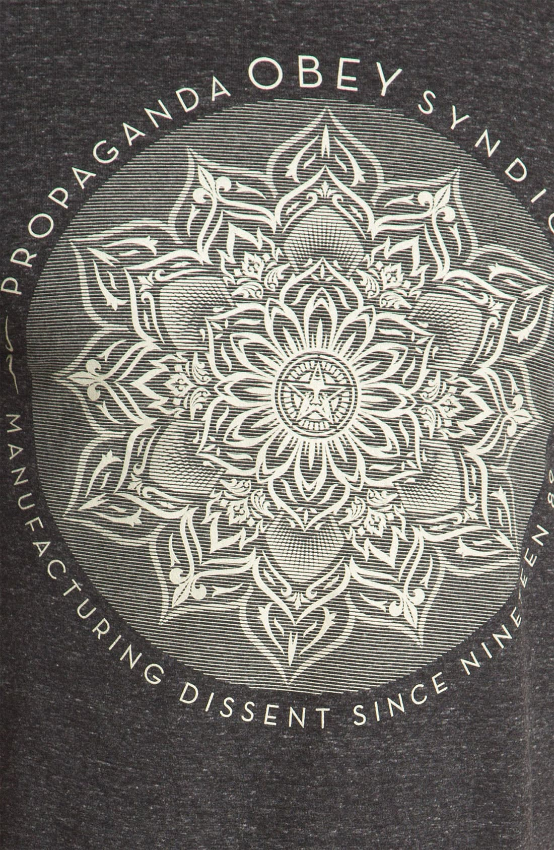 Alternate Image 3  - Obey 'Lotus Syndicate' Graphic T-Shirt