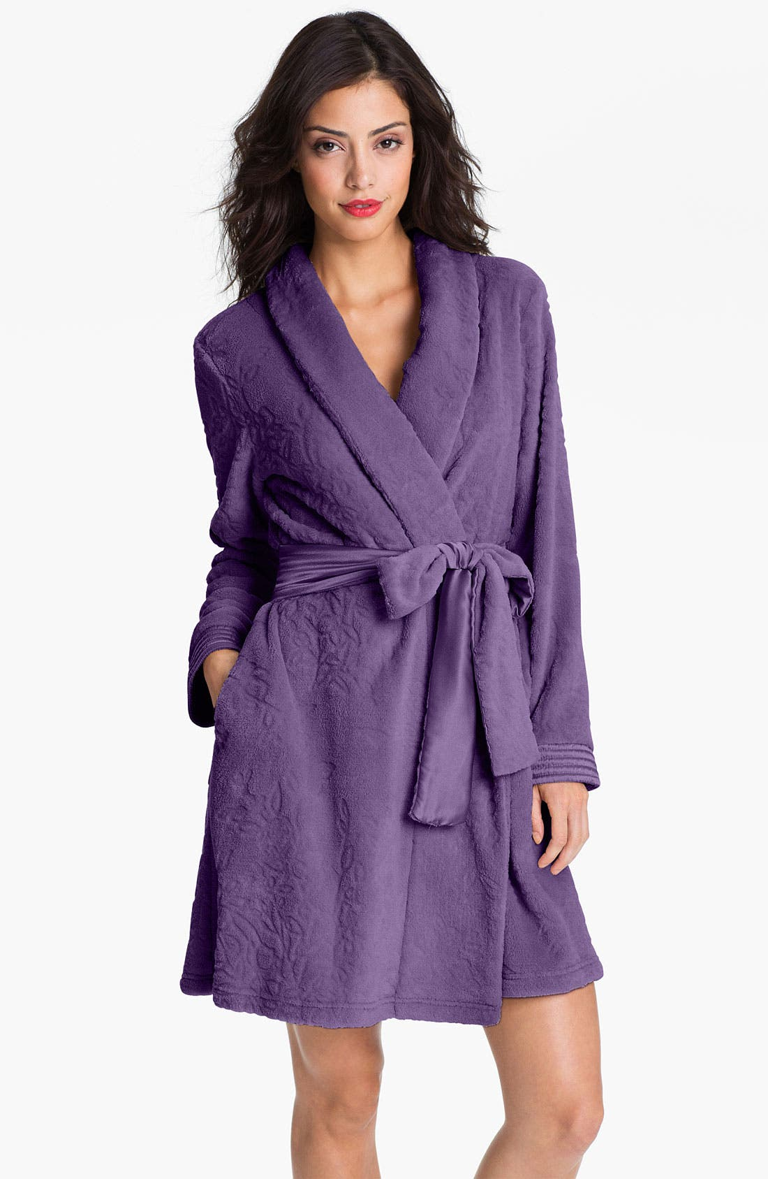 Alternate Image 1 Selected - Midnight by Carole Hochman 'Into the Night' Robe
