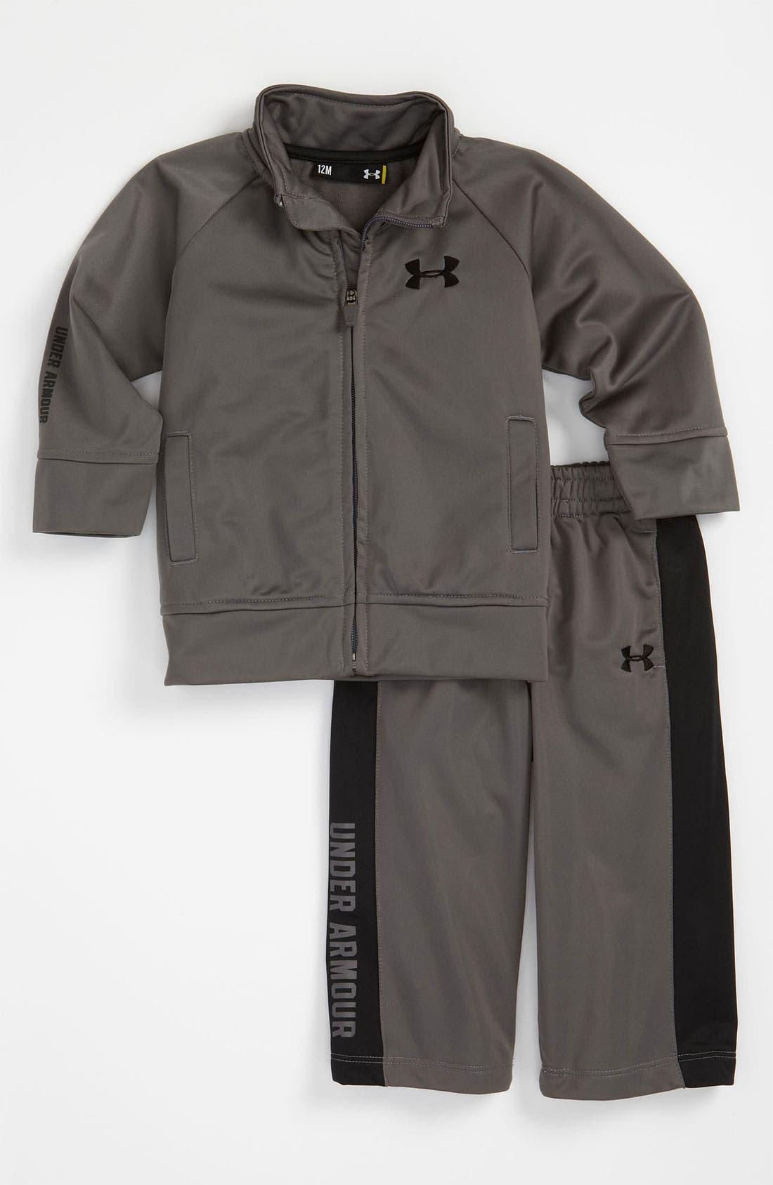 Alternate Image 1 Selected - Under Armour Jacket & Pants (Infant)
