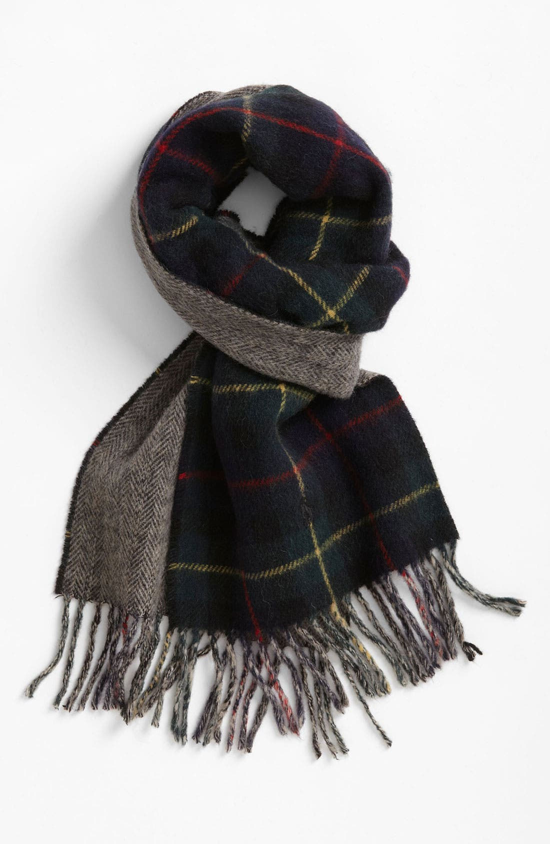 Alternate Image 1 Selected - Polo Ralph Lauren 'Tartan & Gents' Reversible Scarf