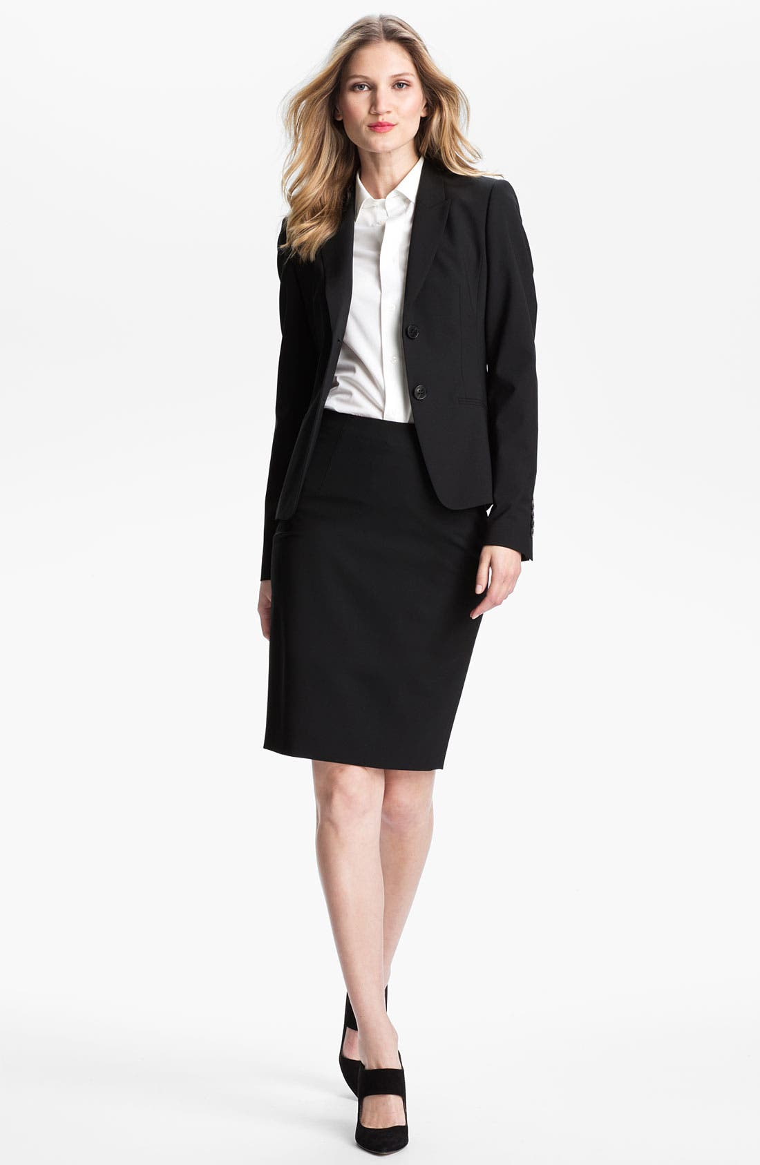 Alternate Image 4  - BOSS Stretch Wool Jacket