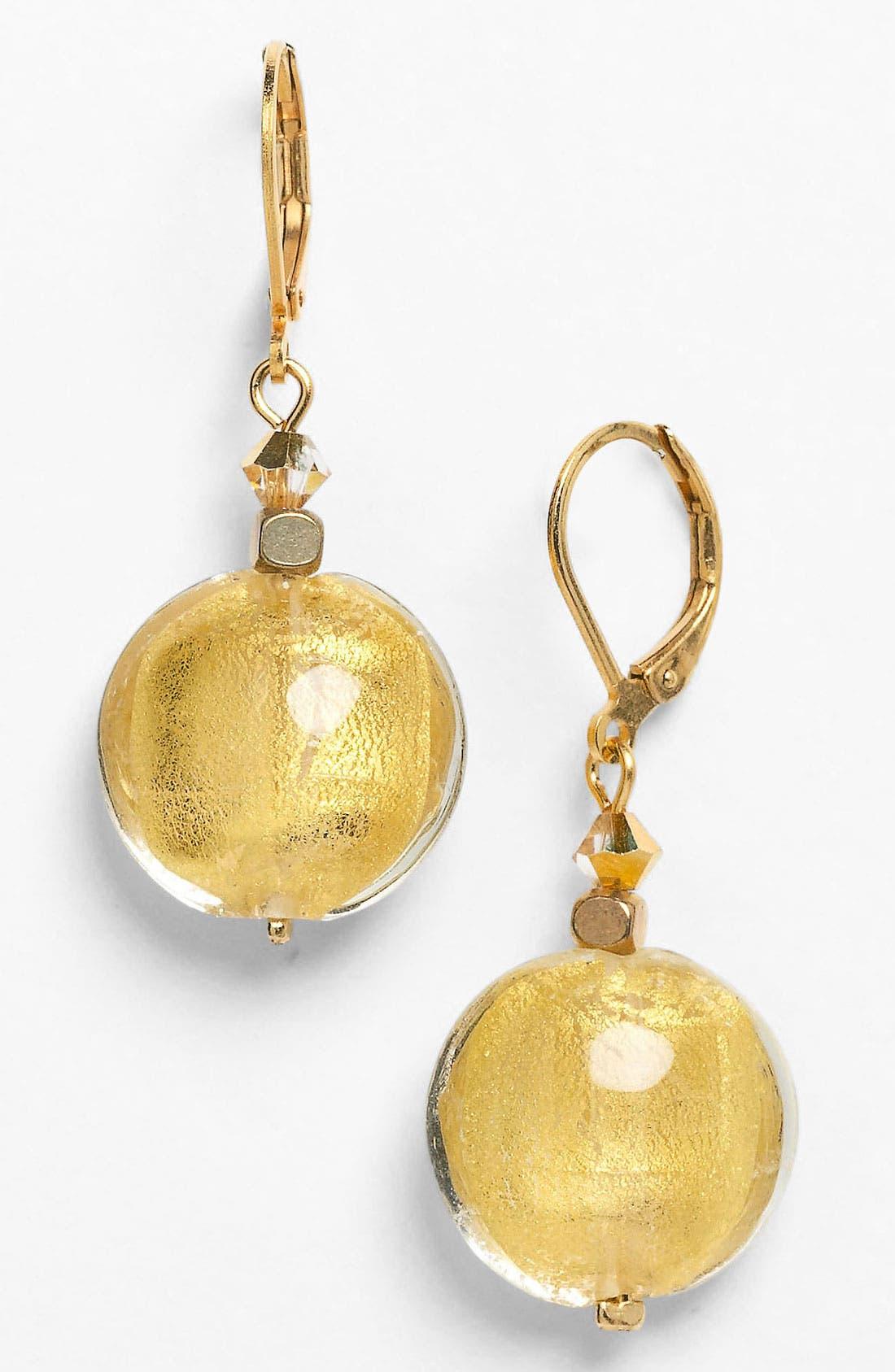 Alternate Image 1 Selected - Dabby Reid Shell & Crystal Earrings