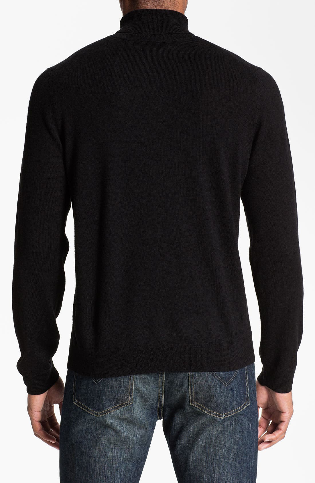 Alternate Image 2  - Nordstrom Merino Wool Turtleneck