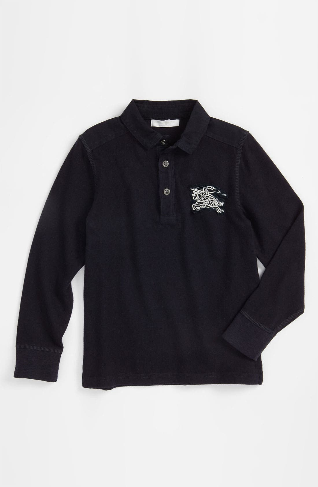 Alternate Image 1 Selected - Burberry Rugby Shirt (Little Boys)