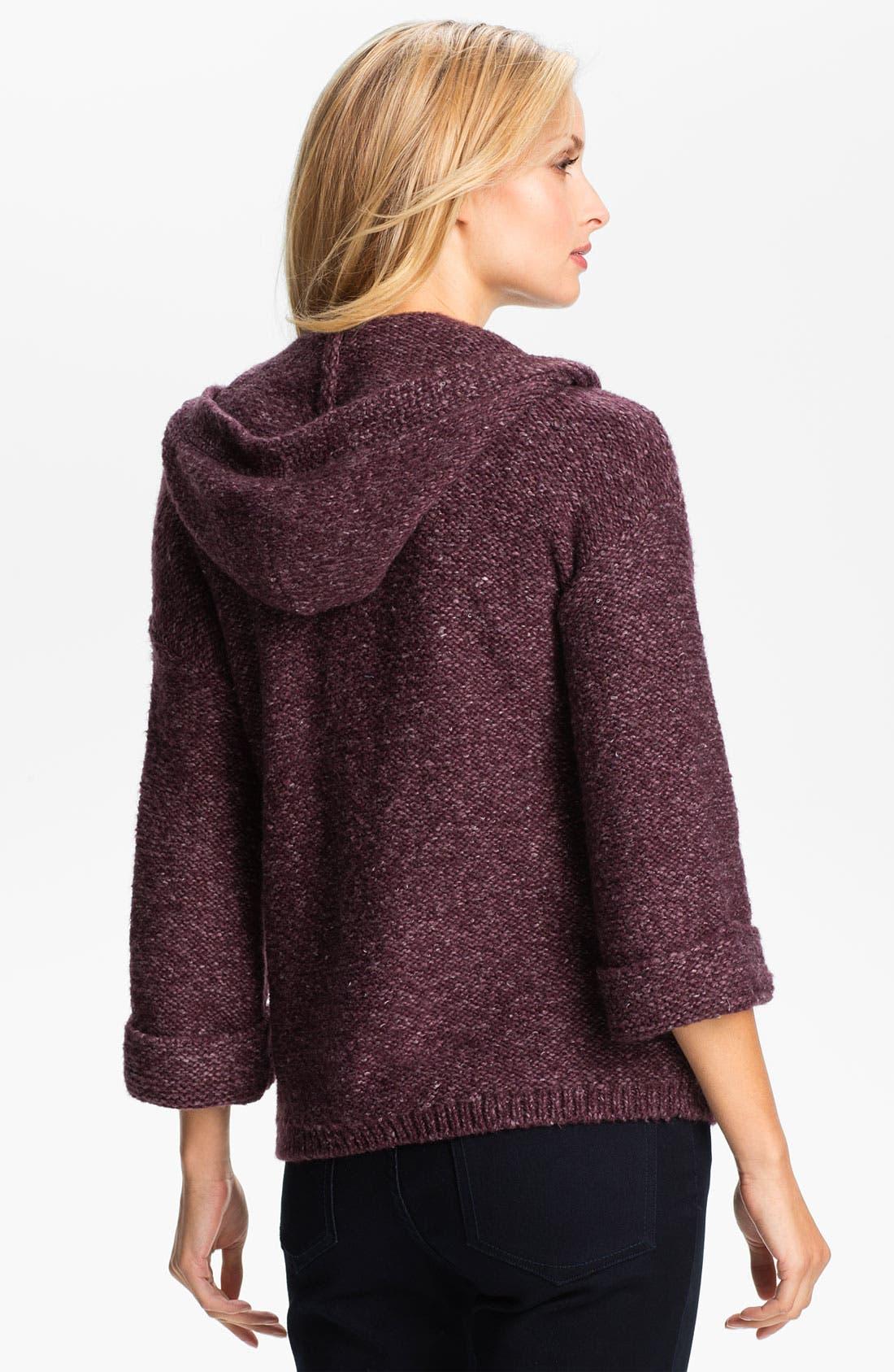 Alternate Image 2  - Amber Sun Hooded Sweater Jacket