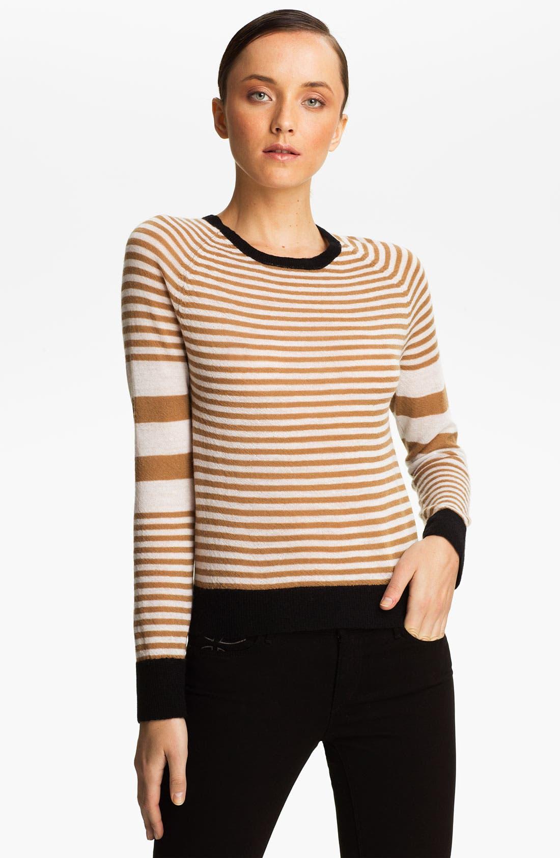 Alternate Image 1 Selected - A.L.C. 'Cayden' Stripe Wool Sweater