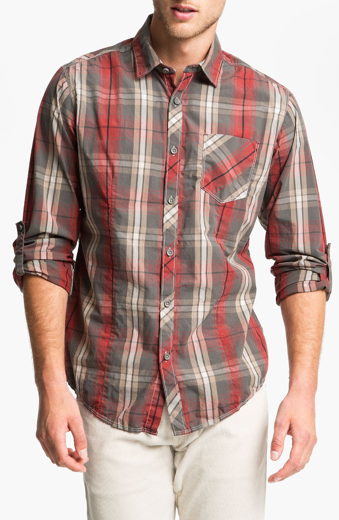 Alternate Image 1 Selected - Jeremiah 'Owen' Poplin Sport Shirt