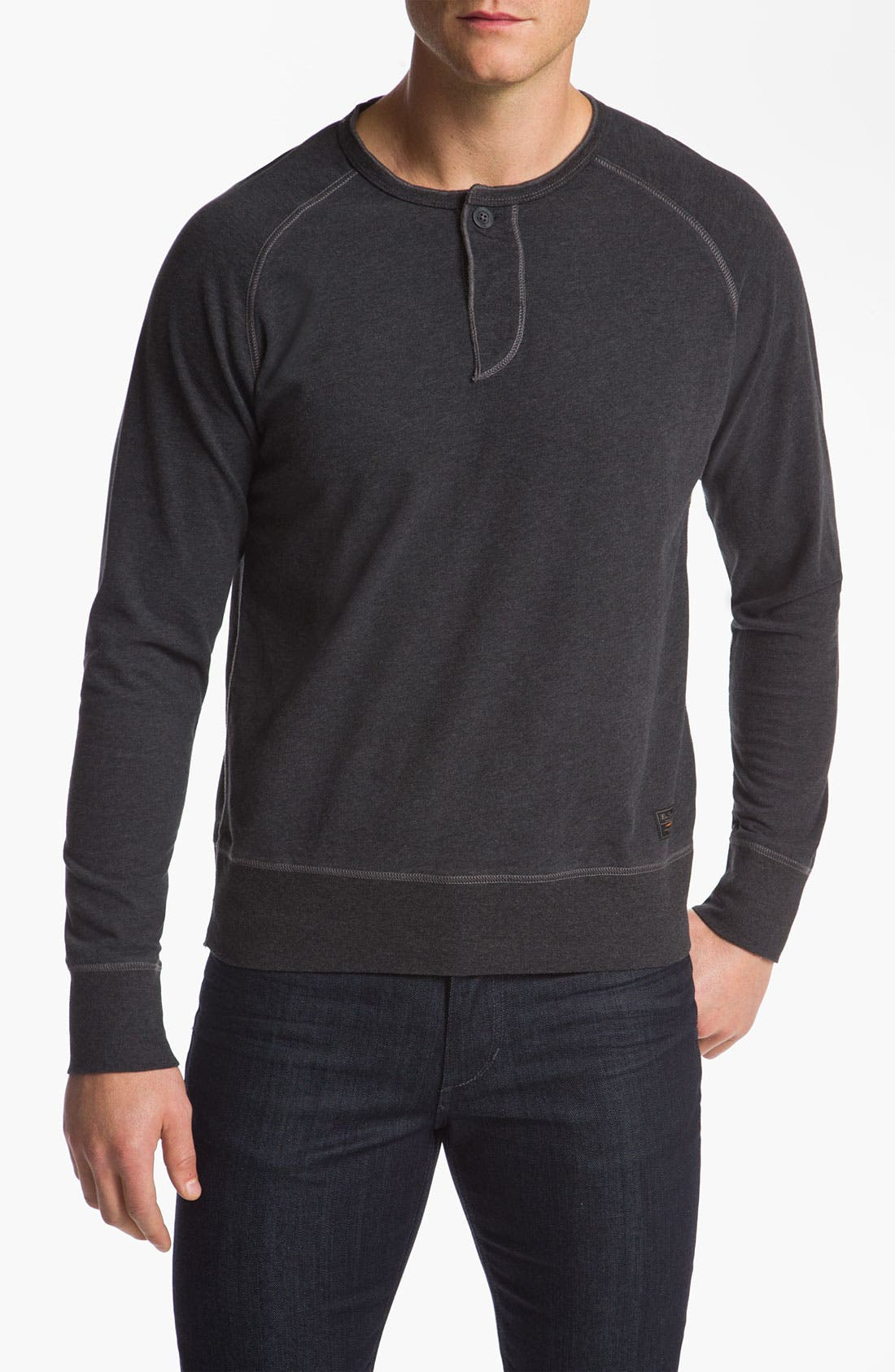 Alternate Image 1 Selected - Ben Sherman Henley Sweatshirt