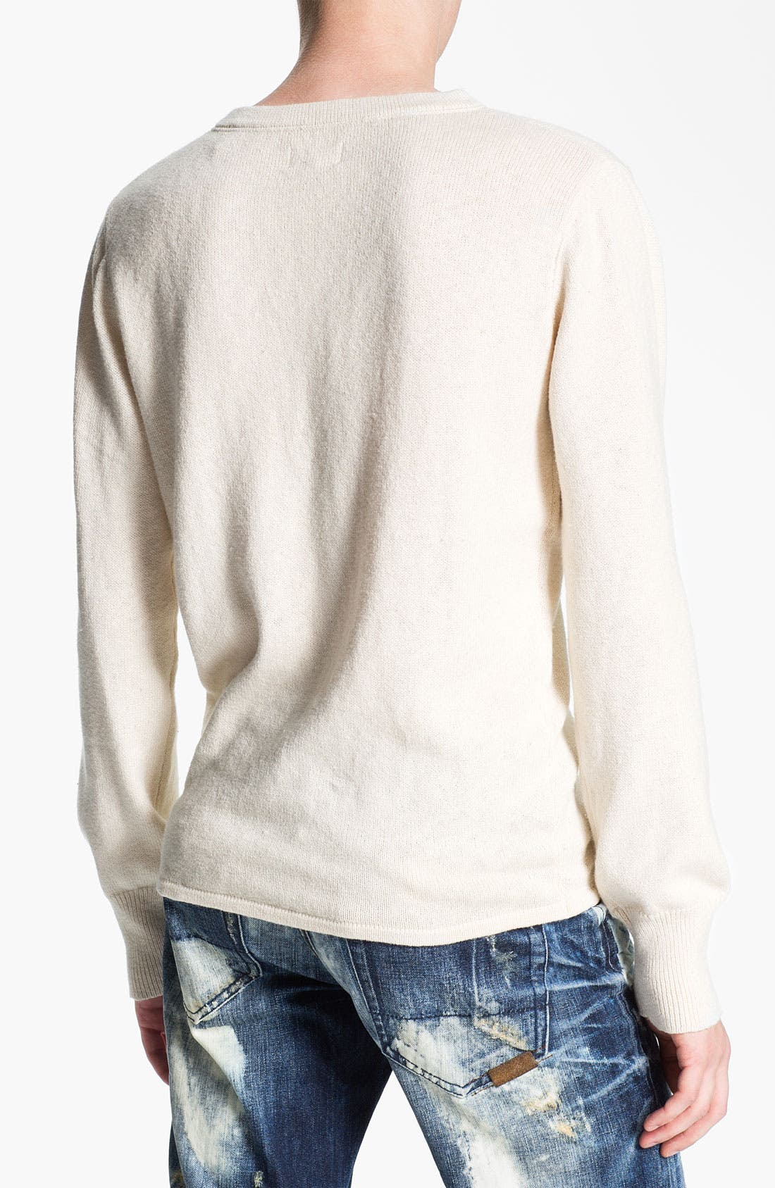 Alternate Image 2  - Gant Rugger Slub Knit Henley