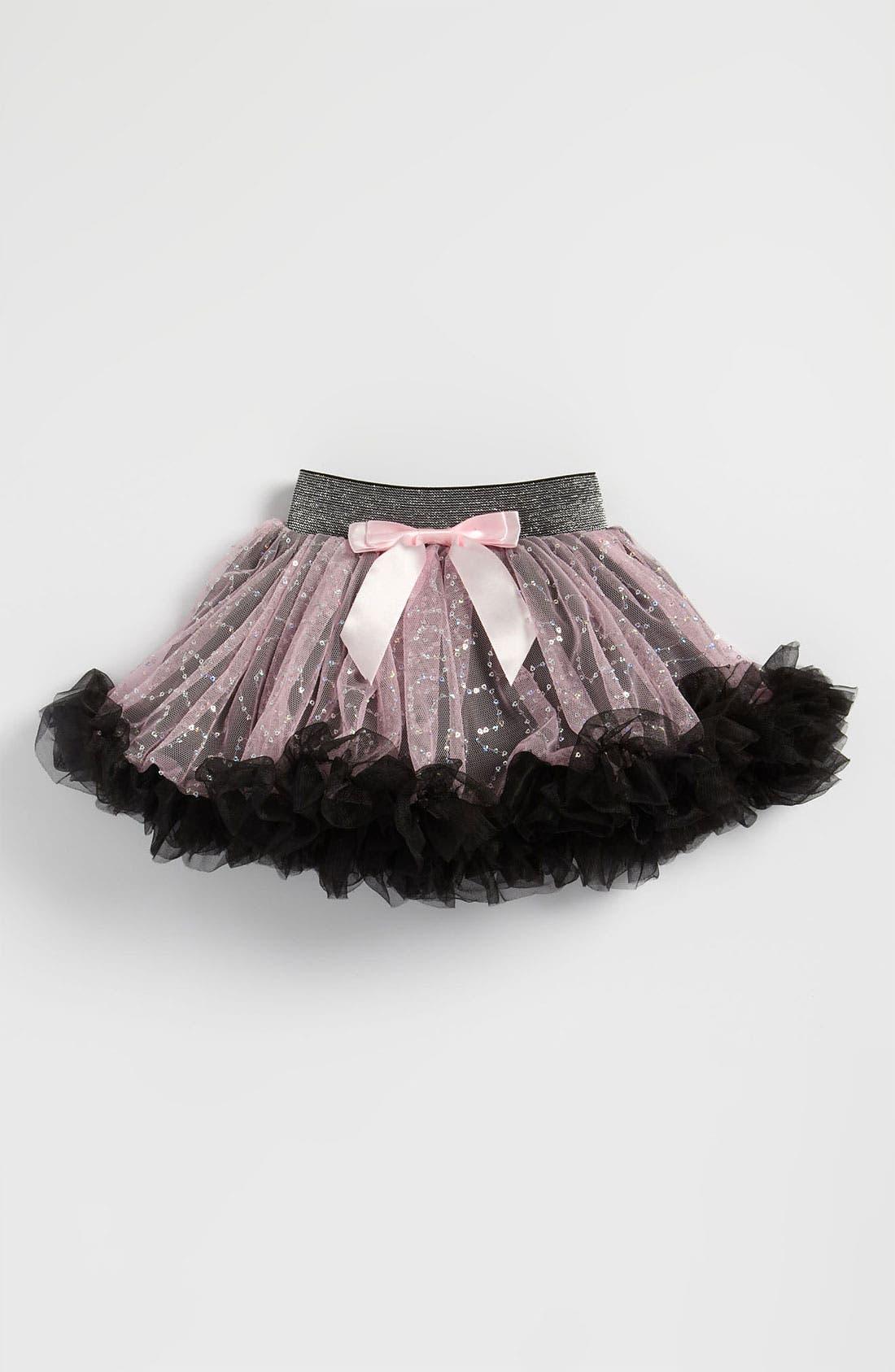 Alternate Image 1 Selected - Popatu Glitter Petticoat Skirt (Toddler)
