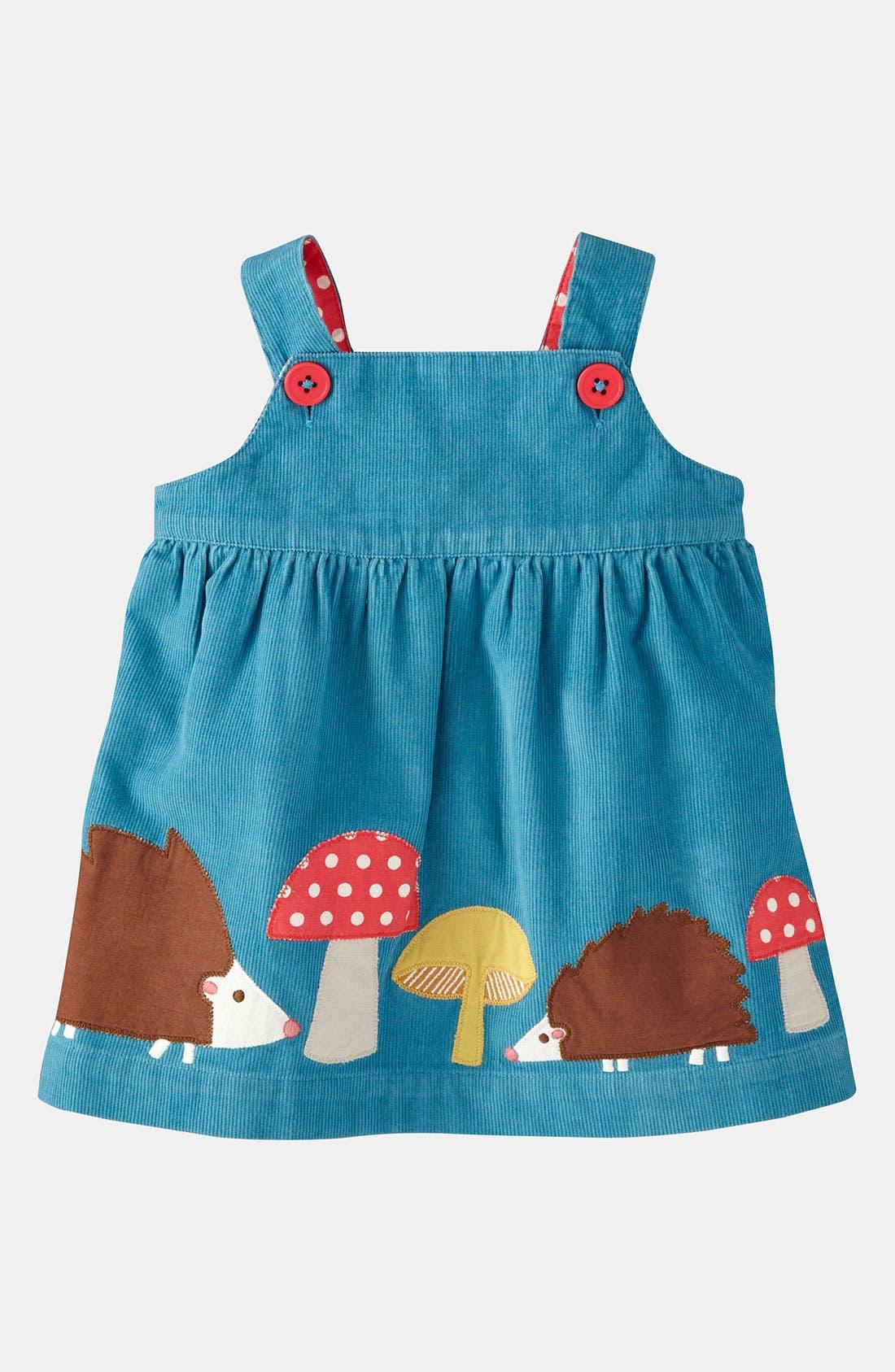 Alternate Image 1 Selected - Mini Boden Appliqué Dress (Infant)