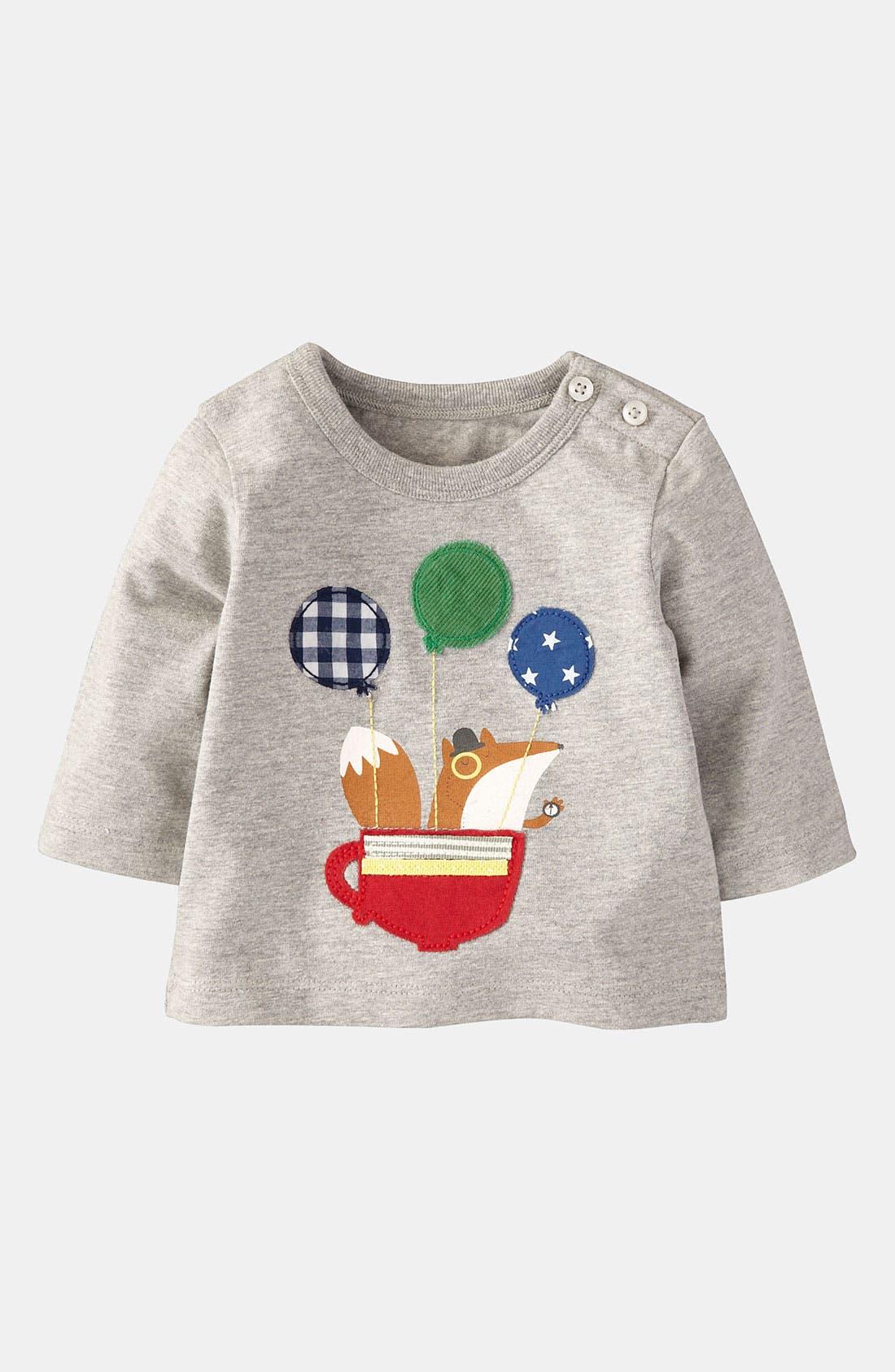 Alternate Image 1 Selected - Mini Boden 'Animal Adventures' T-Shirt (Infant)