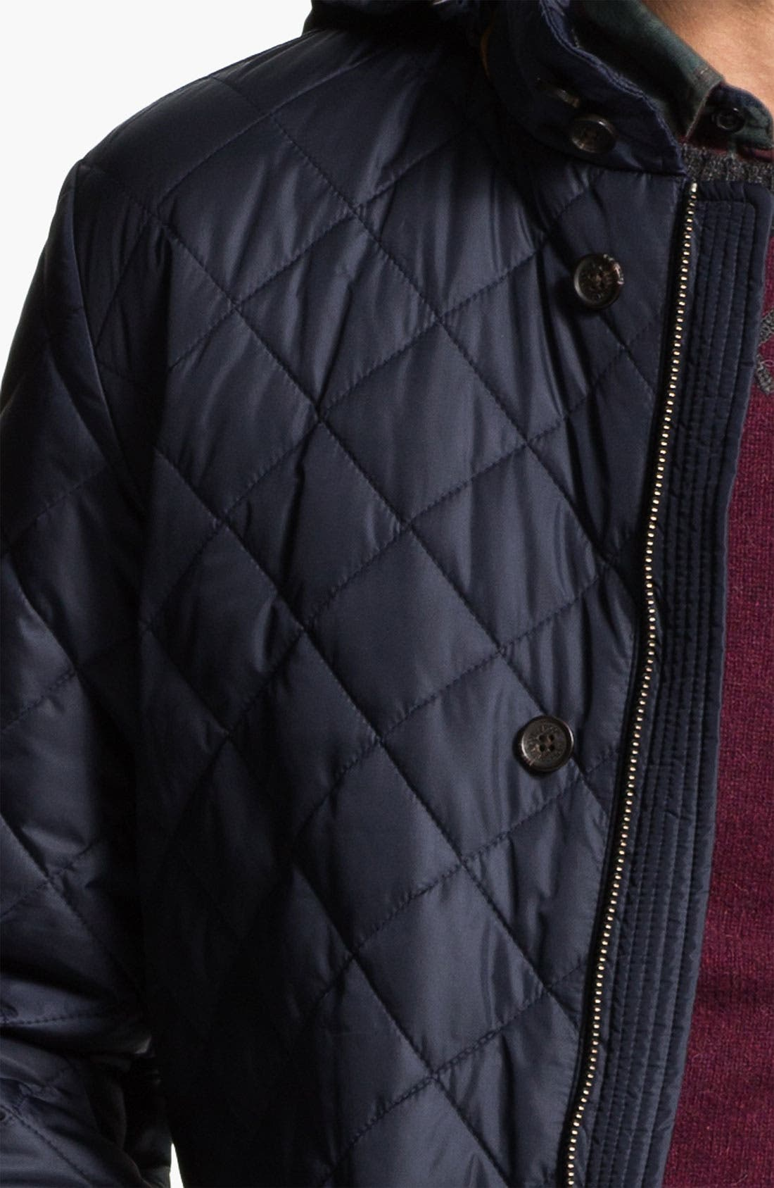 Alternate Image 3  - Brooks Brothers Quilted Walking Jacket