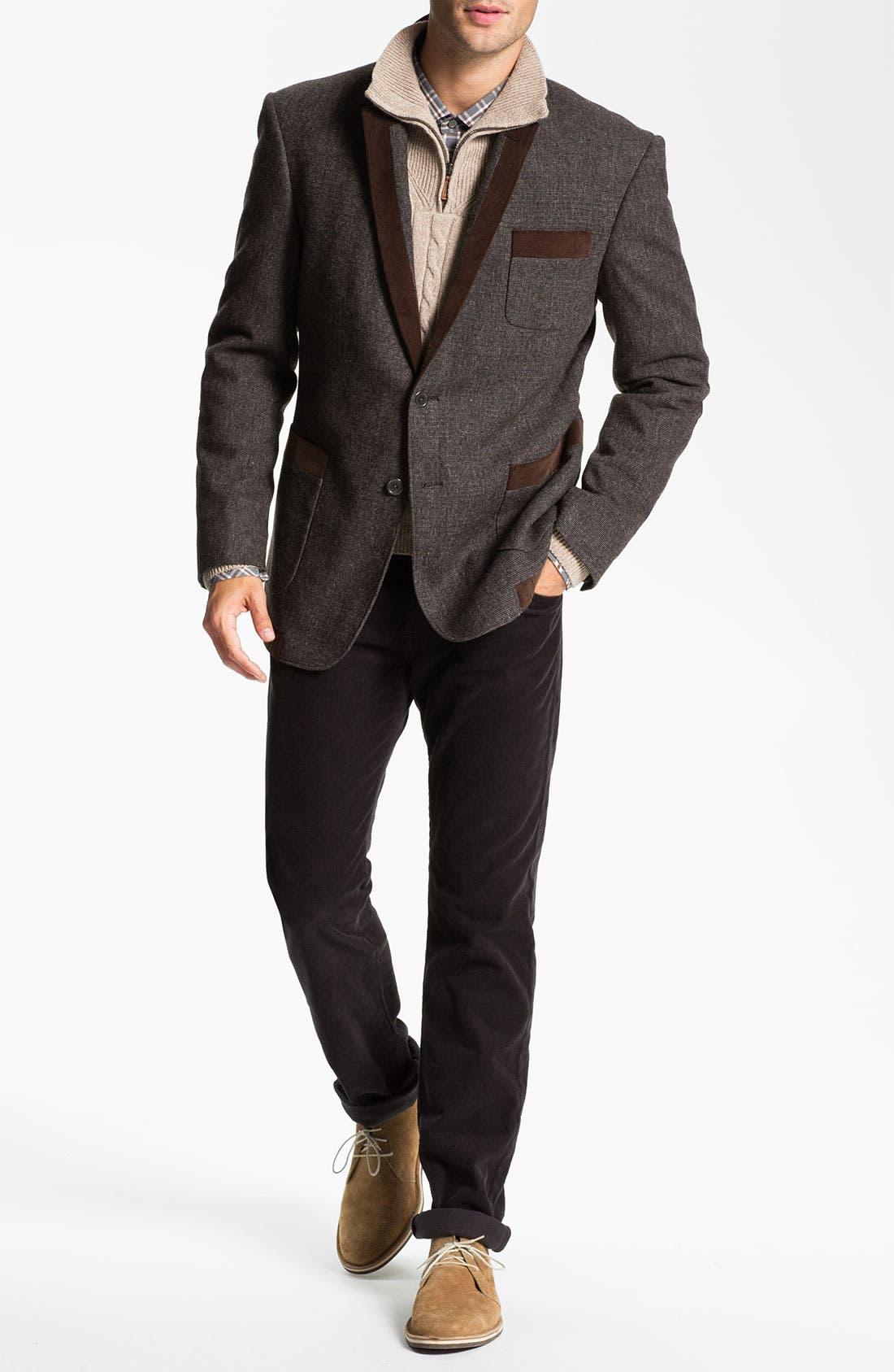 Alternate Image 4  - Lora Gi Half Zip Wool & Cashmere Sweater