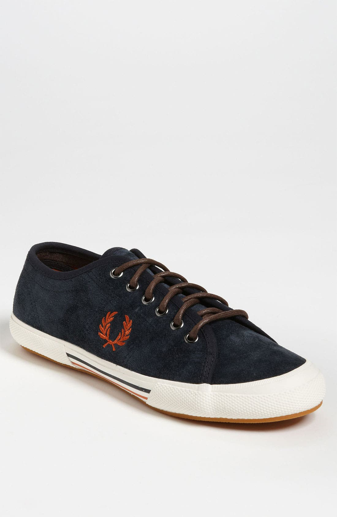 Main Image - Fred Perry Vintage Suede Tennis Sneaker