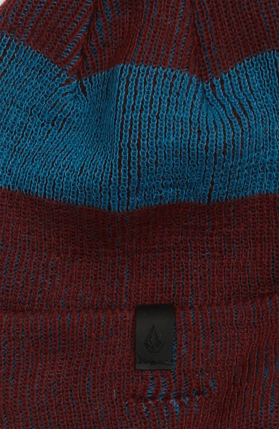 Alternate Image 2  - Volcom Striped Beanie (Little Boys & Big Boys)