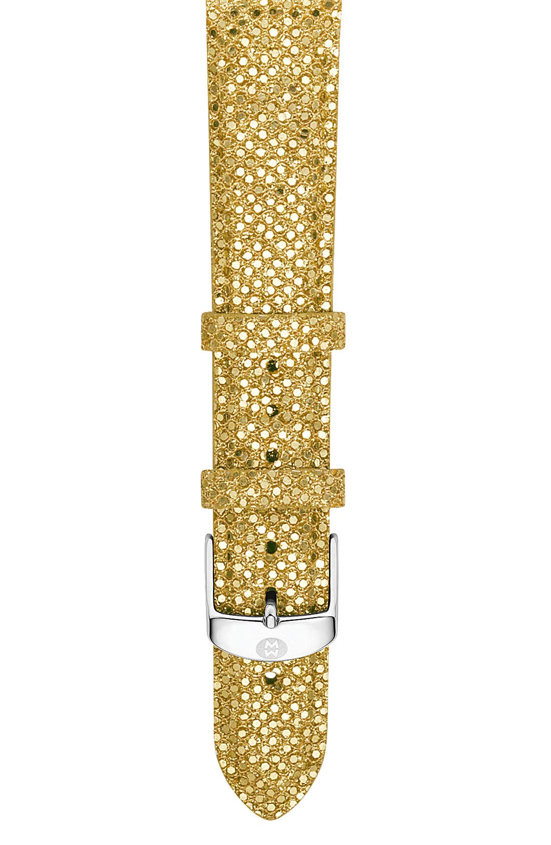 Alternate Image 1 Selected - MICHELE 16mm Sequin Watch Strap