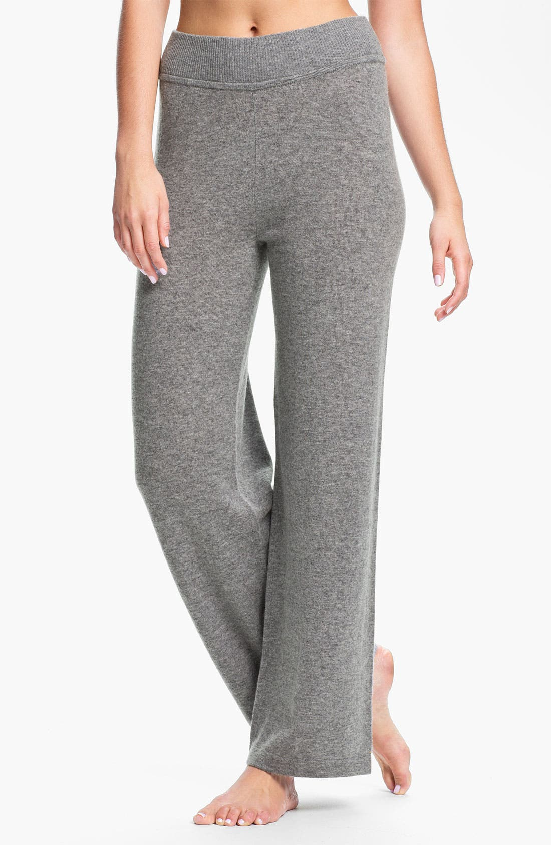 Alternate Image 1 Selected - Donna Karan 'Cozy' Sweater Knit Lounge Pants
