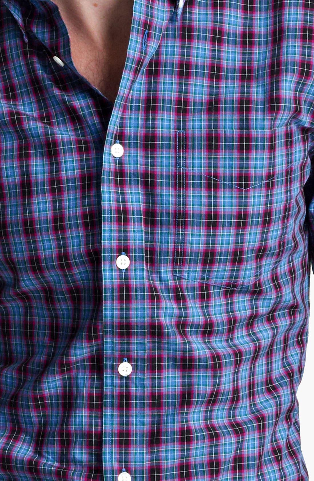 Alternate Image 3  - Jack Spade 'Arnet' Check Woven Shirt