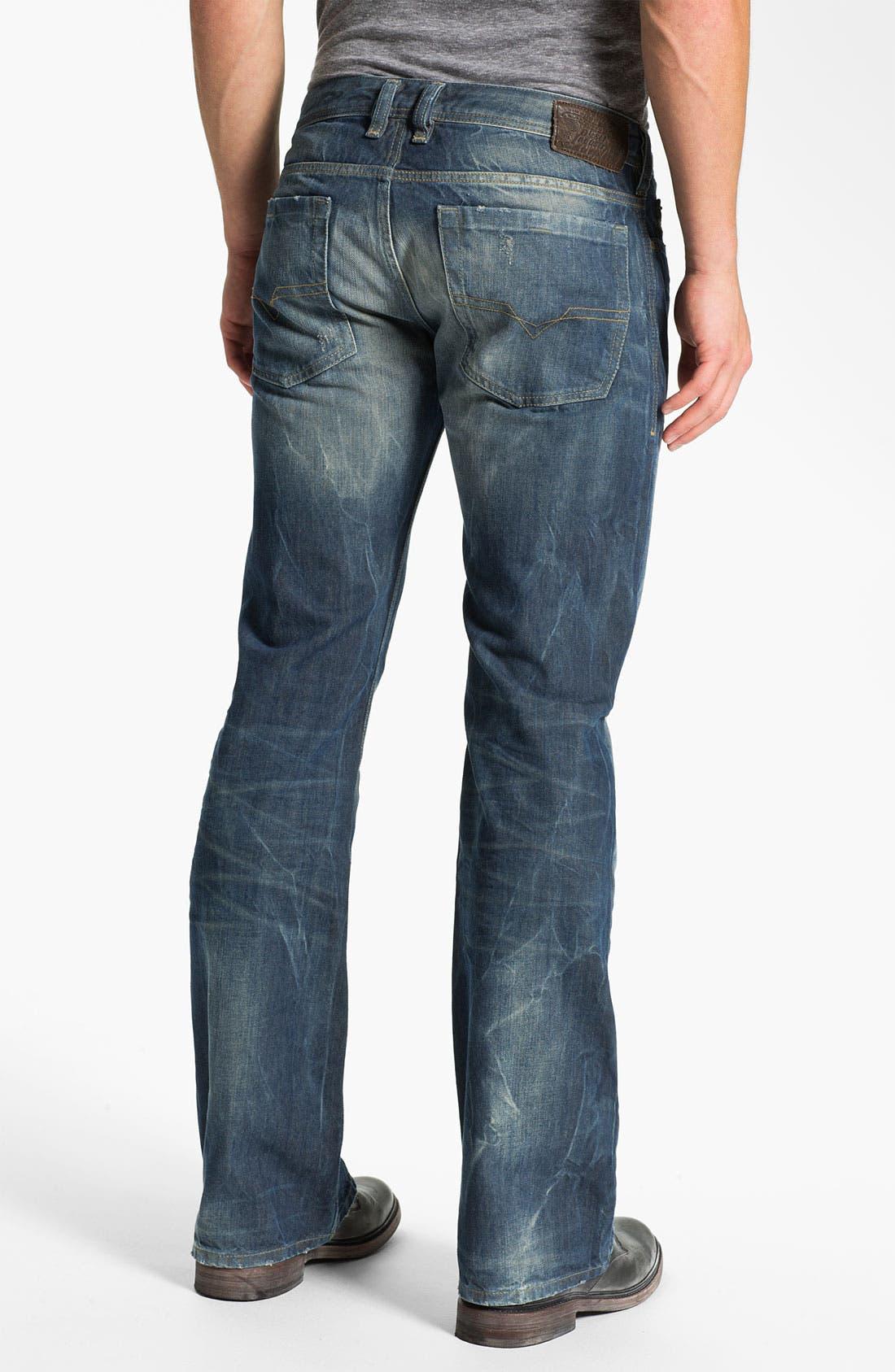Alternate Image 1 Selected - DIESEL® 'Zathan' Bootcut Jeans (0805U)