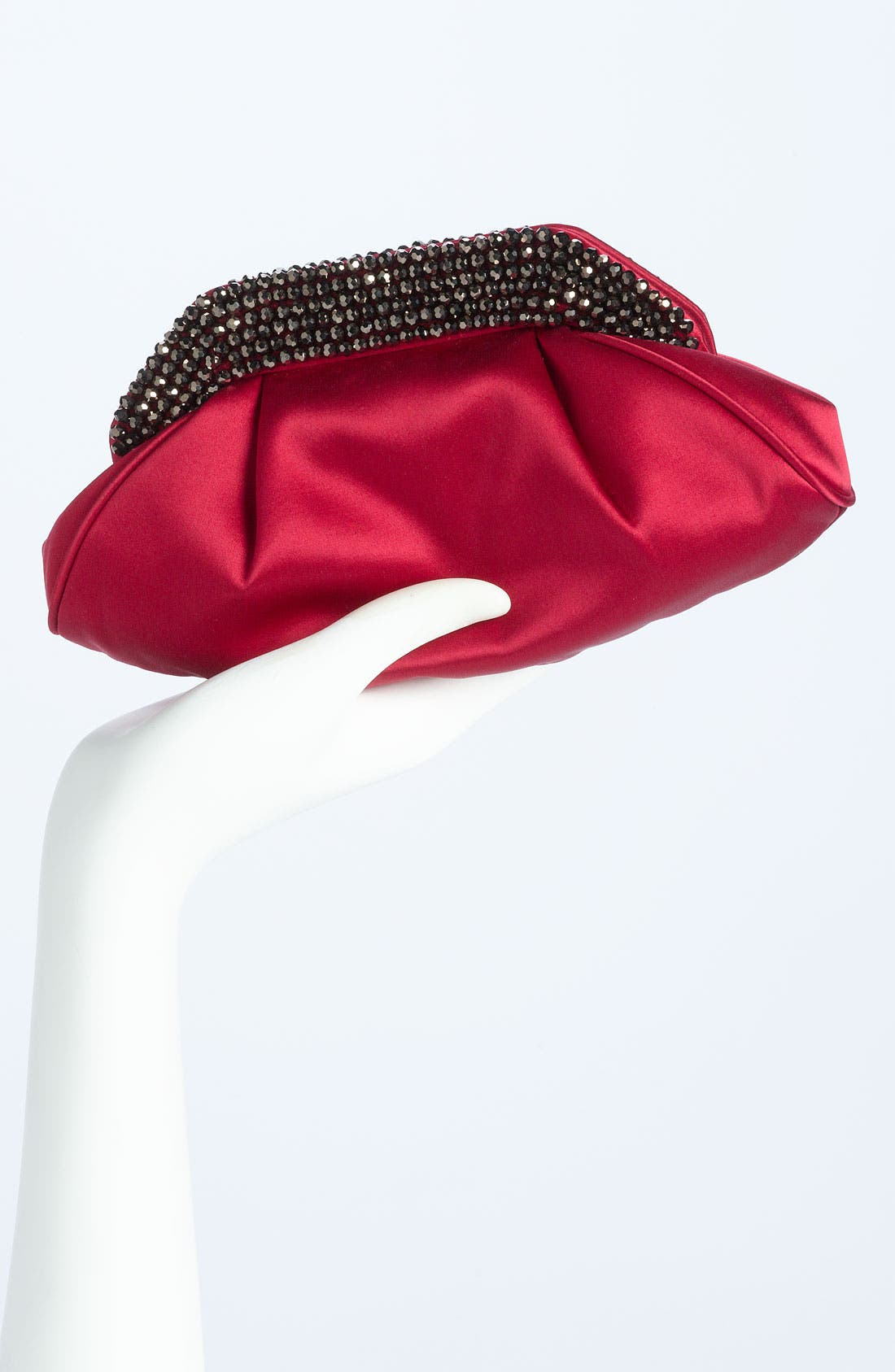 Alternate Image 2  - Sondra Roberts Glass Bead Collar Clutch