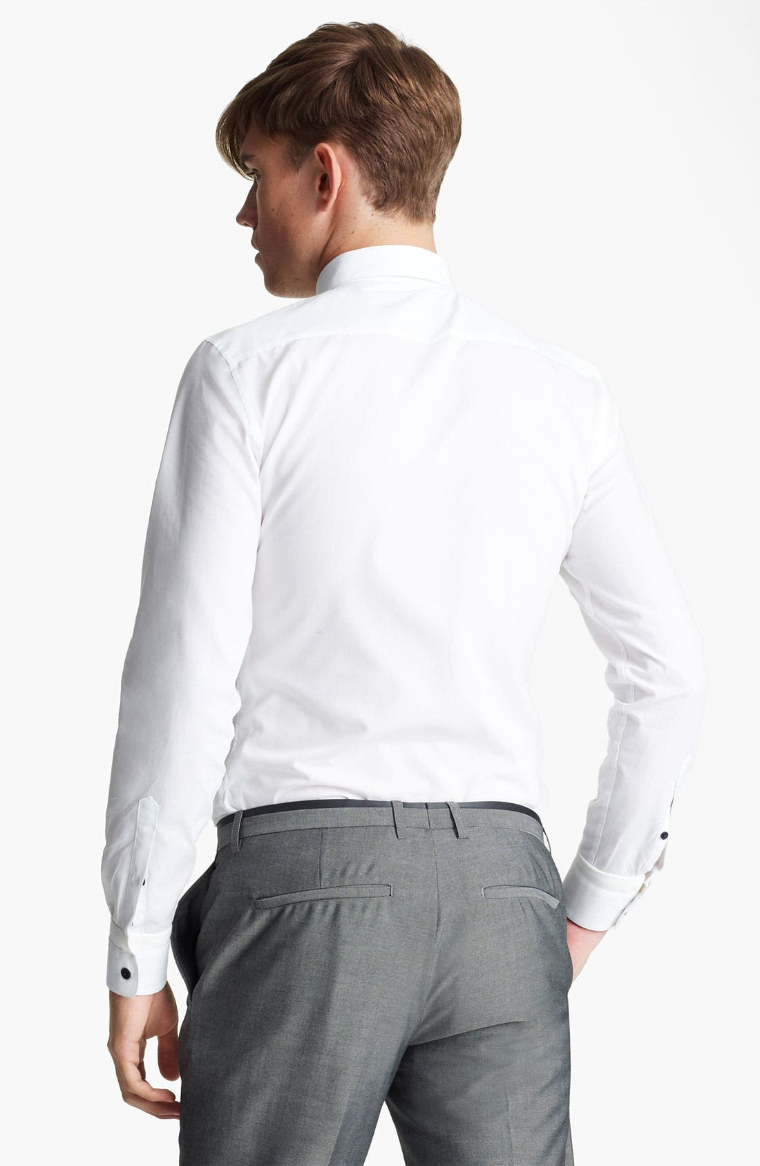 Alternate Image 2  - Topman Contrast Button Dress Shirt