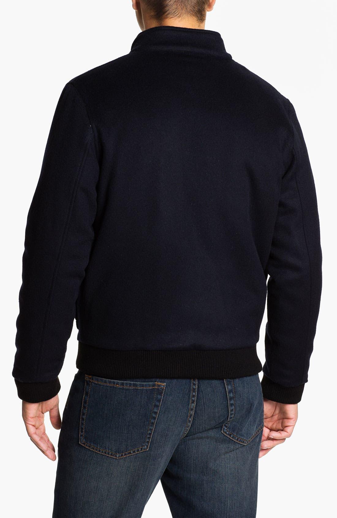 Alternate Image 2  - Hart Schaffner Marx Wool & Cashmere Blouson Jacket