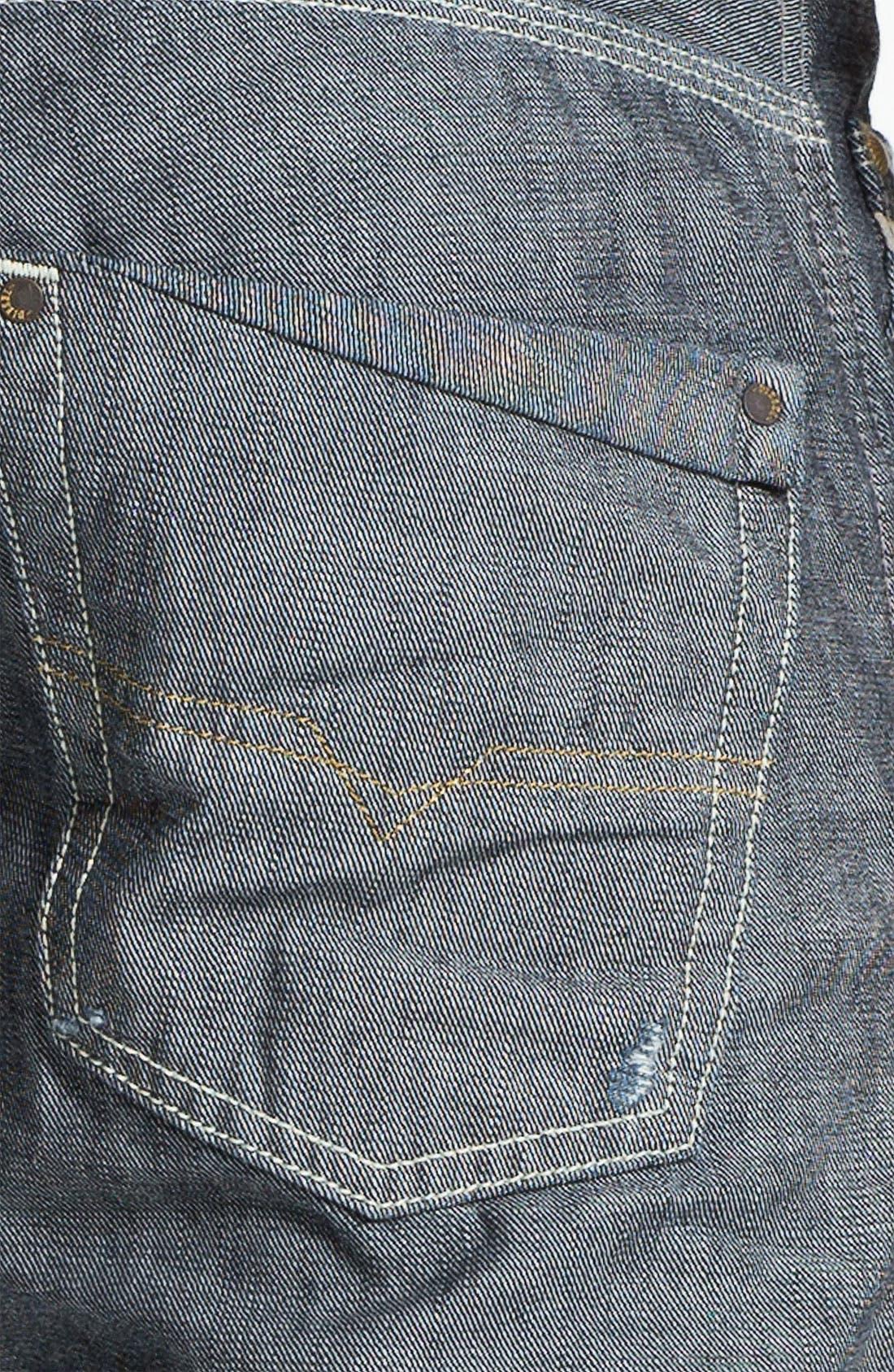 Alternate Image 4  - DIESEL® 'Safado' Straight Leg Jeans (0809D)