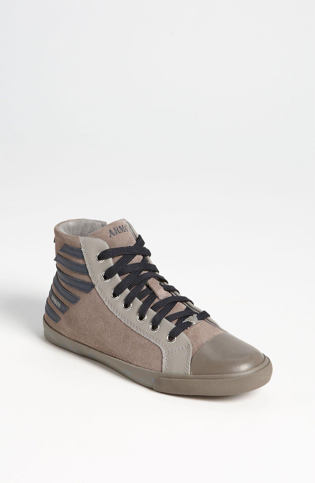 Alternate Image 1 Selected - Armani Junior 'Eagle' Sneaker (Toddler, Little Kid & Big Kid)