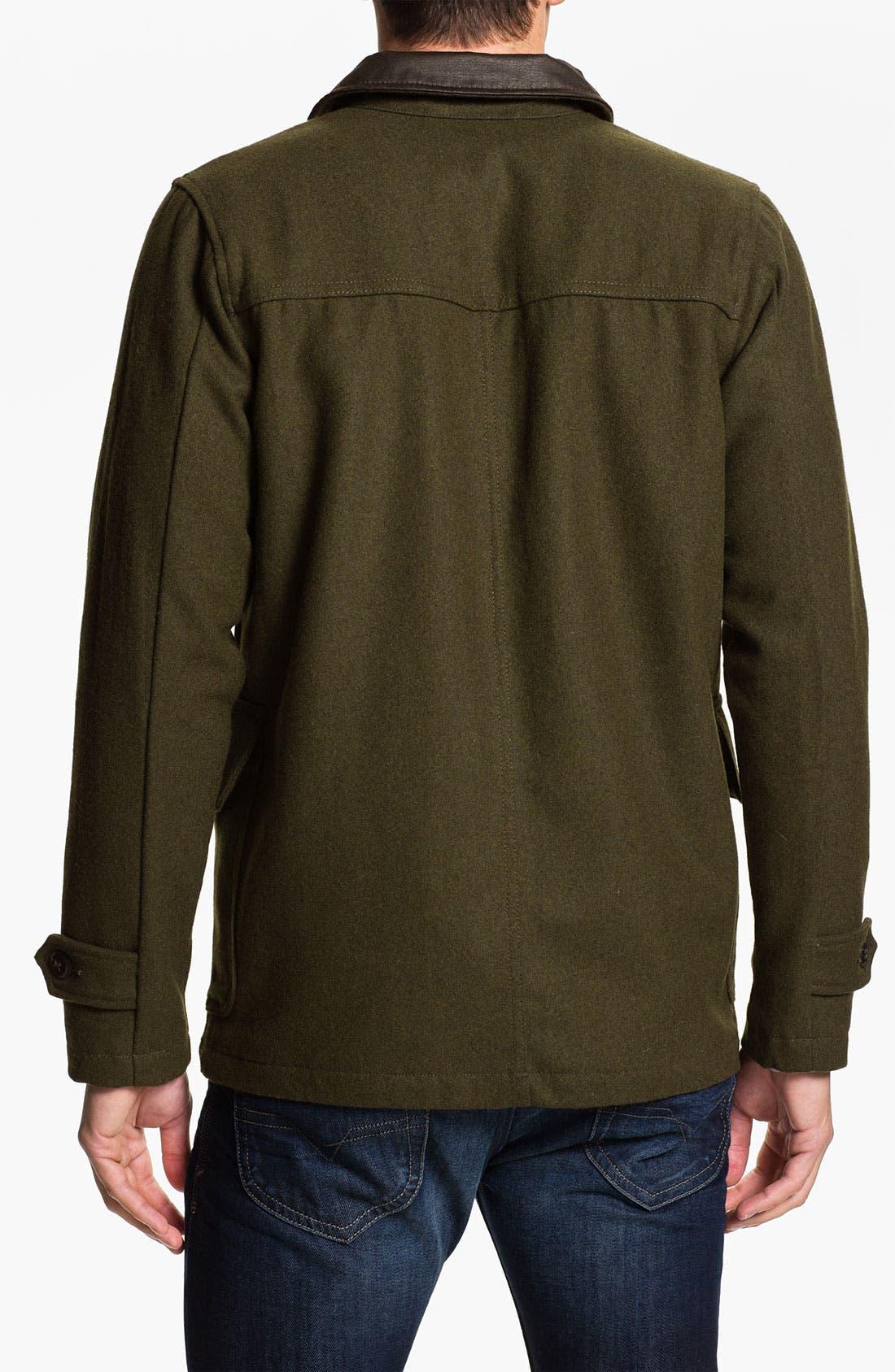 Alternate Image 2  - Obey 'Berlin' Wool Blend Jacket