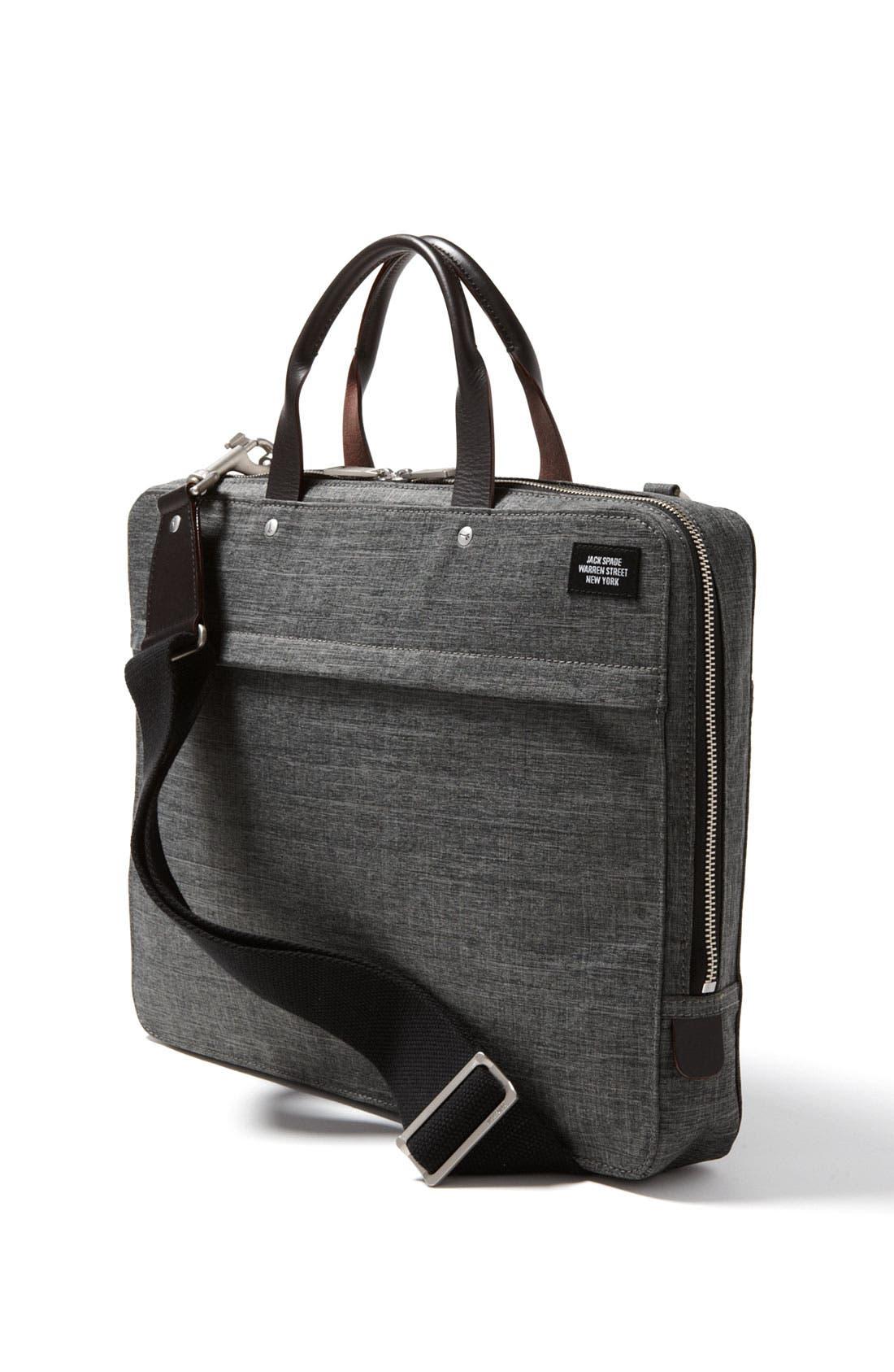 Alternate Image 1 Selected - Jack Spade 'Tech Oxford' Slim Laptop Briefcase