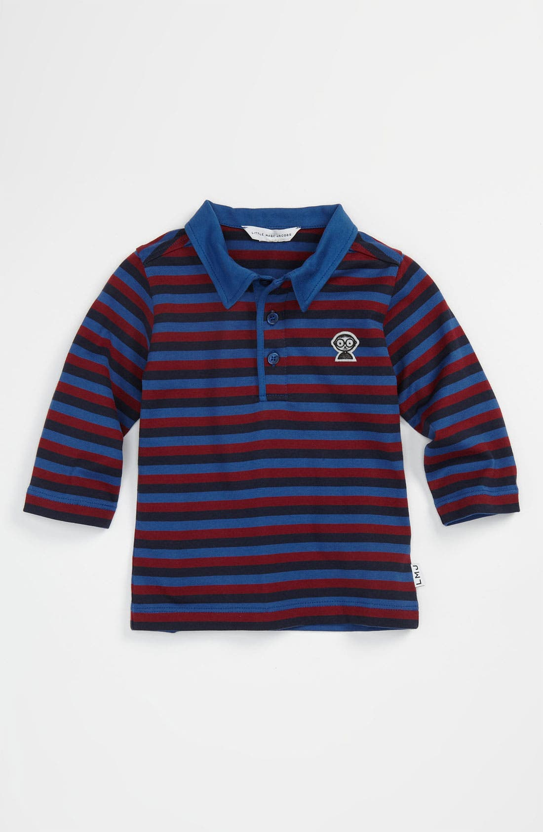 Alternate Image 1 Selected - LITTLE MARC JACOBS Stripe Polo (Infant)