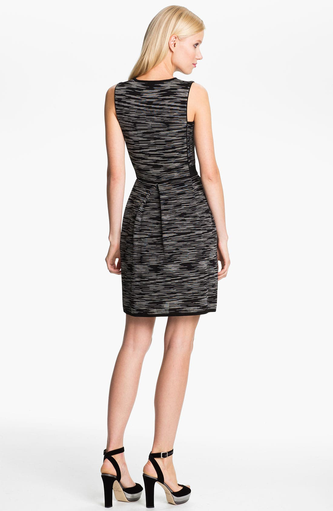 Alternate Image 2  - M Missoni Space Dye Double Knit Dress