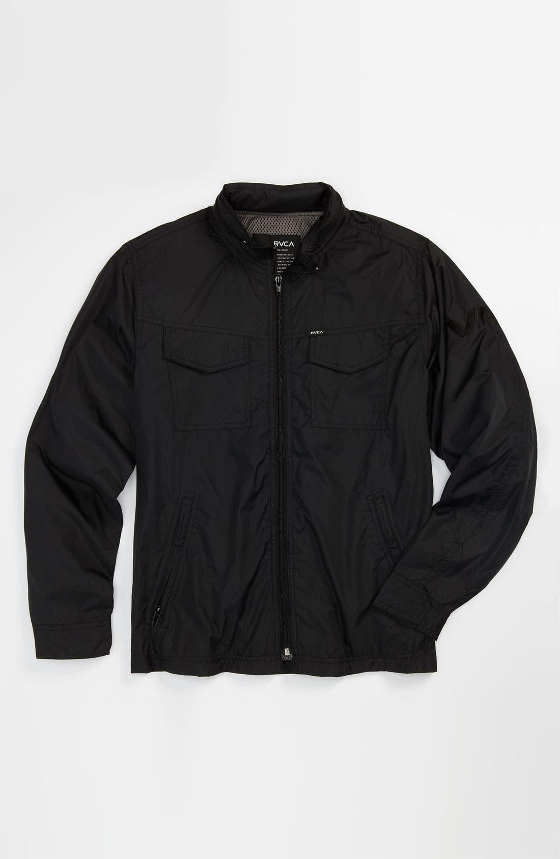 Alternate Image 1 Selected - RVCA 'Bay Breaker' Jacket (Big Boys)