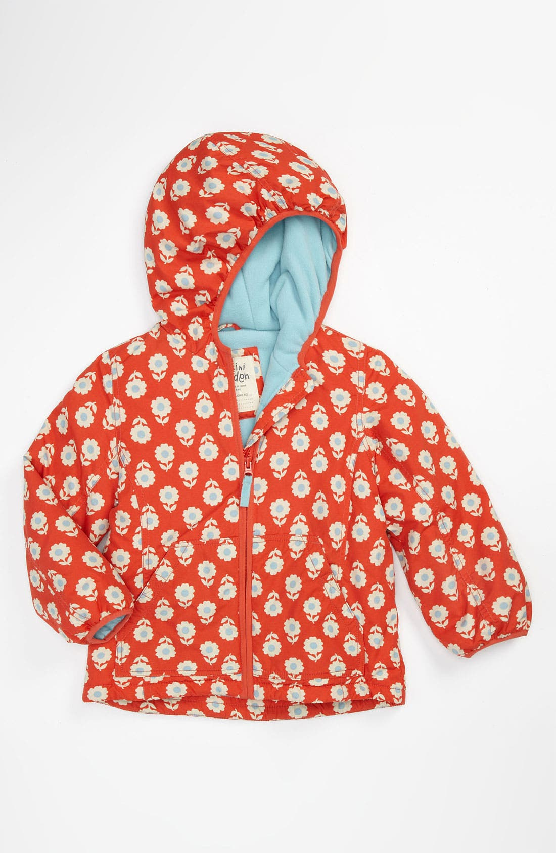 Alternate Image 1 Selected - Mini Boden Fleece Lined Jacket (Little Girls & Big Girls)