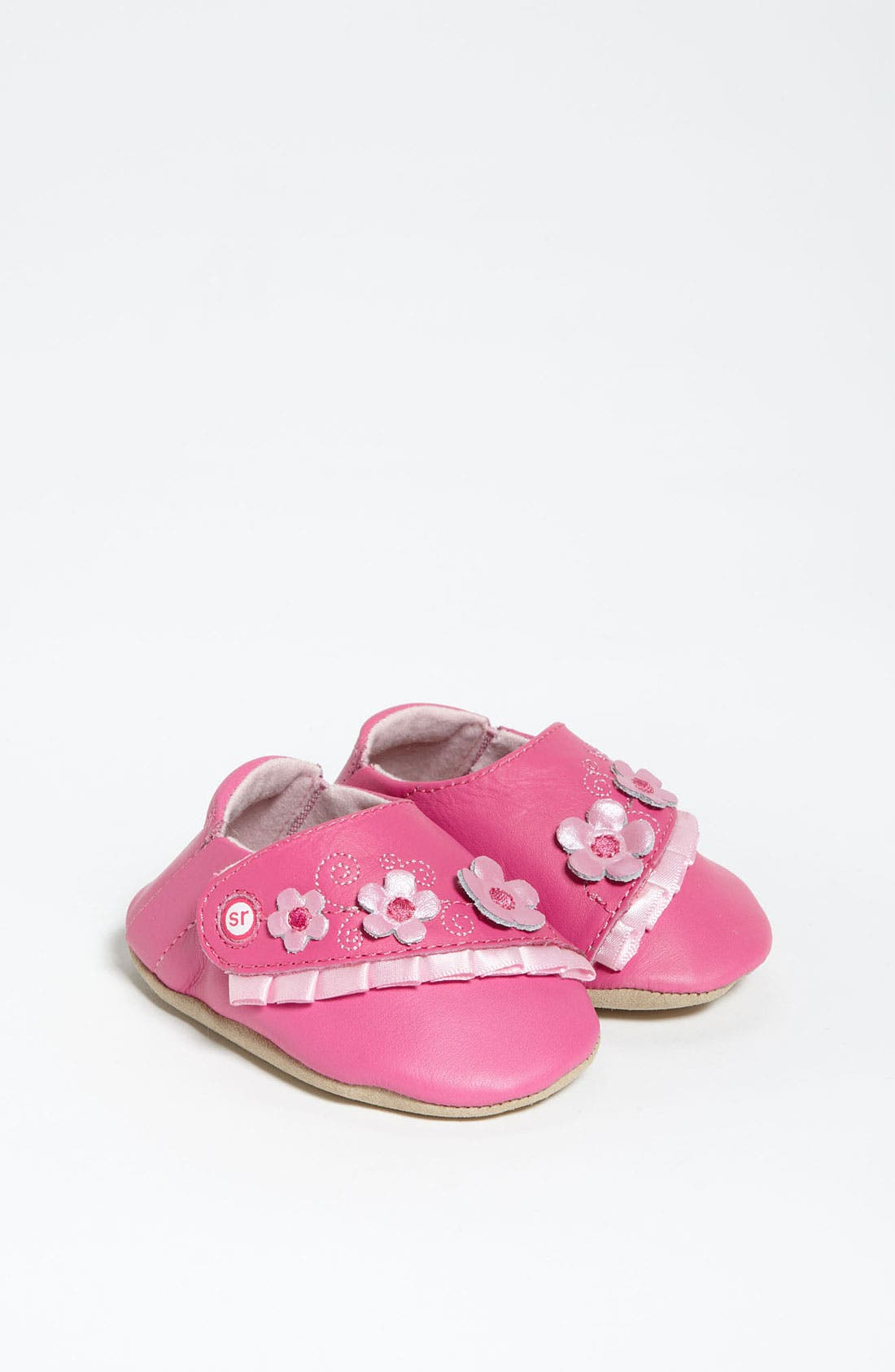 Alternate Image 1 Selected - Stride Rite 'Rosy Ruffles' Crib Shoe (Baby)