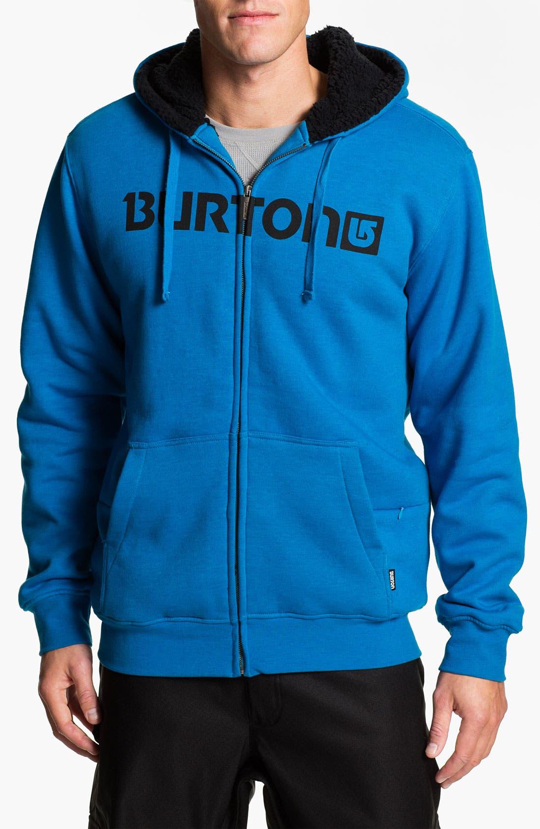Alternate Image 1 Selected - Burton 'Fireside' Zip Hoodie