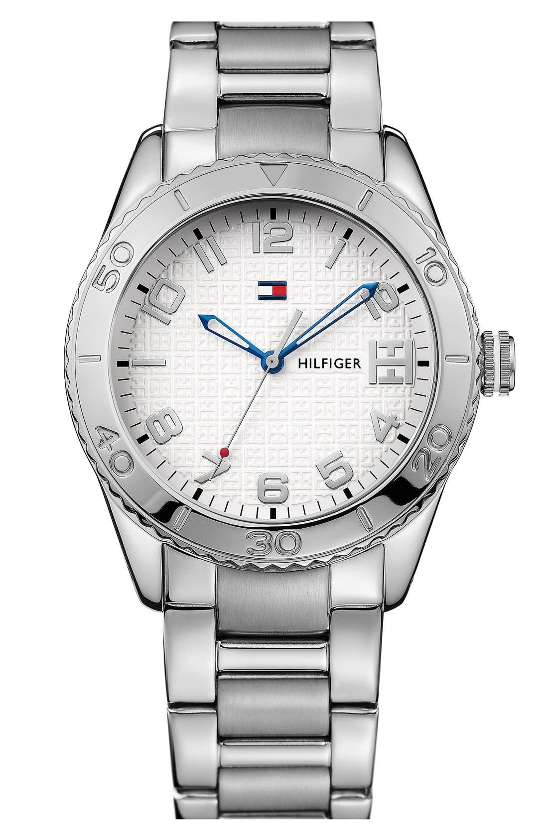 Alternate Image 1 Selected - Tommy Hilfiger Round Bracelet Watch