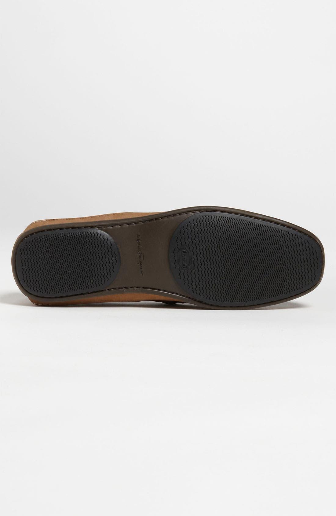Alternate Image 4  - Salvatore Ferragamo 'Mango' Driving Shoe