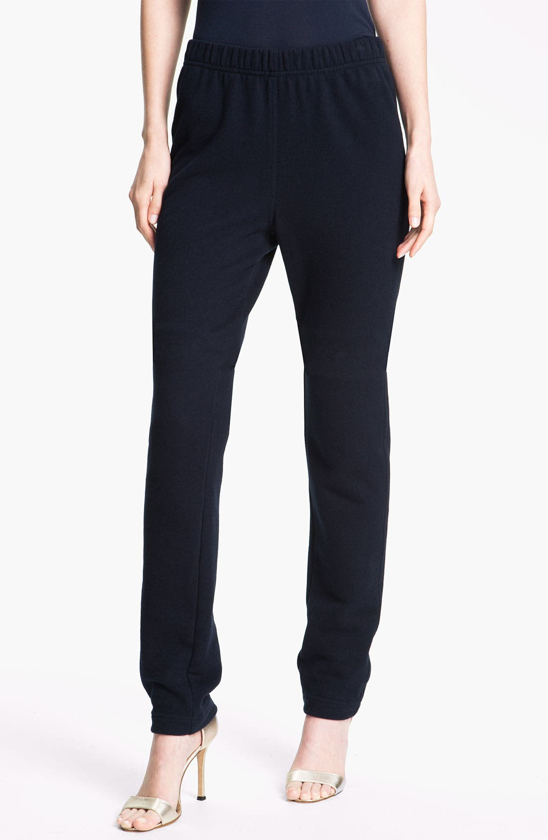 Alternate Image 2  - St. John Yellow Label French Terry Pull-On Pants