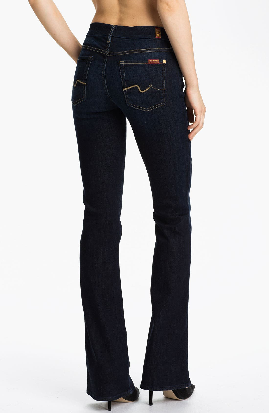 Alternate Image 2  - 7 For All Mankind® 'Kimmie' Bootcut Jeans (Red Cast Clean)