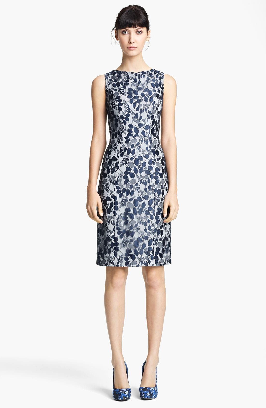 Main Image - Erdem Sleeveless Lace Sheath Dress