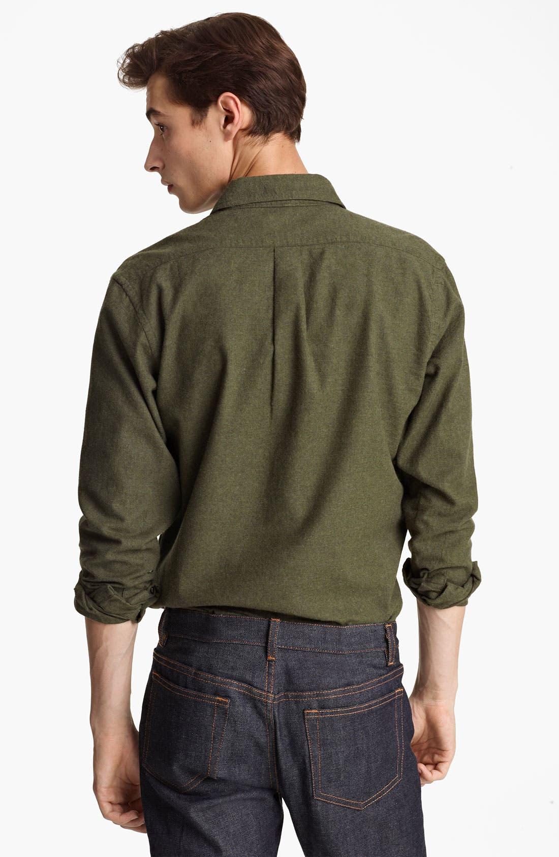 Alternate Image 2  - Grayers Flannel Sport Shirt