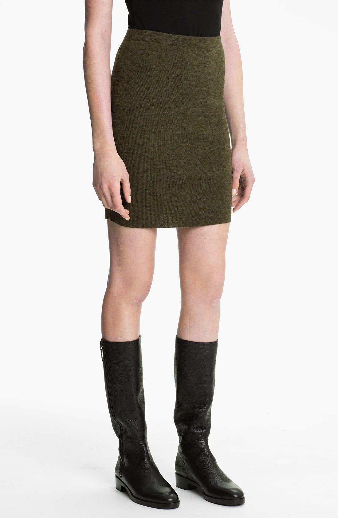 Alternate Image 1 Selected - Eileen Fisher Merino Wool Skirt