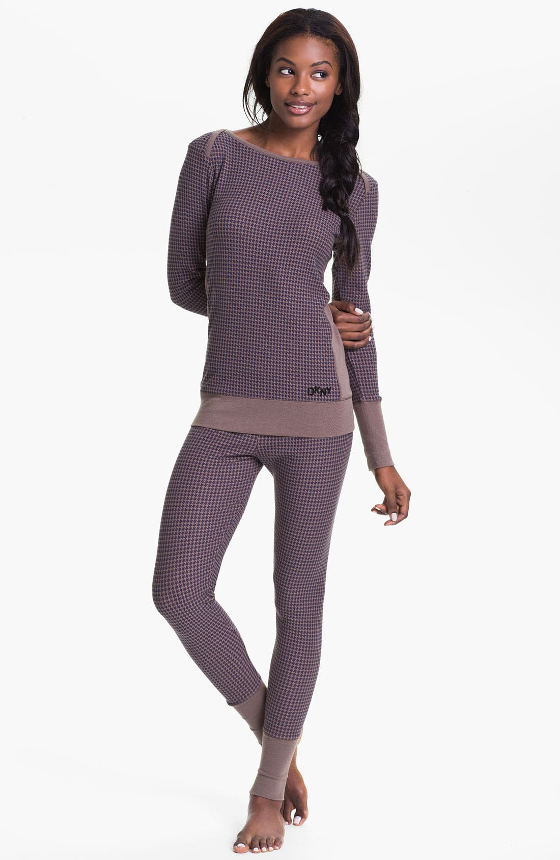 Alternate Image 3  - DKNY Banded Base Layer Top