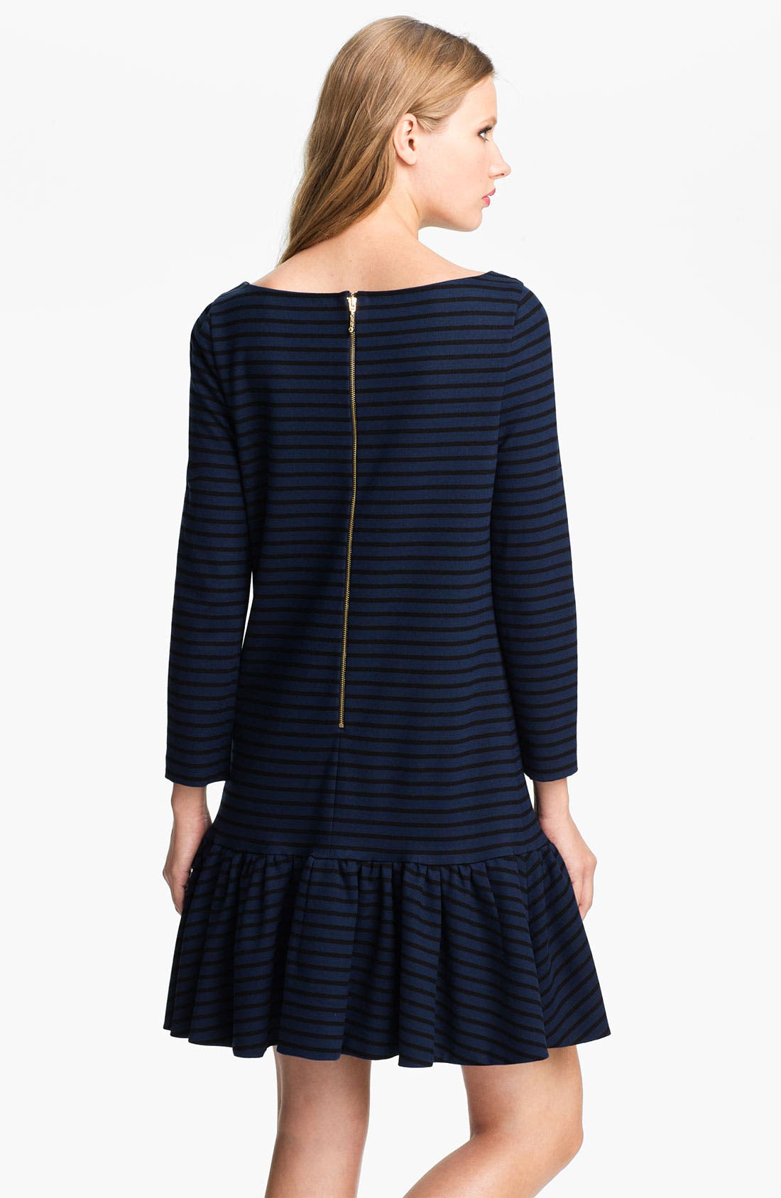 Alternate Image 2  - kate spade new york 'burke' stripe shift dress